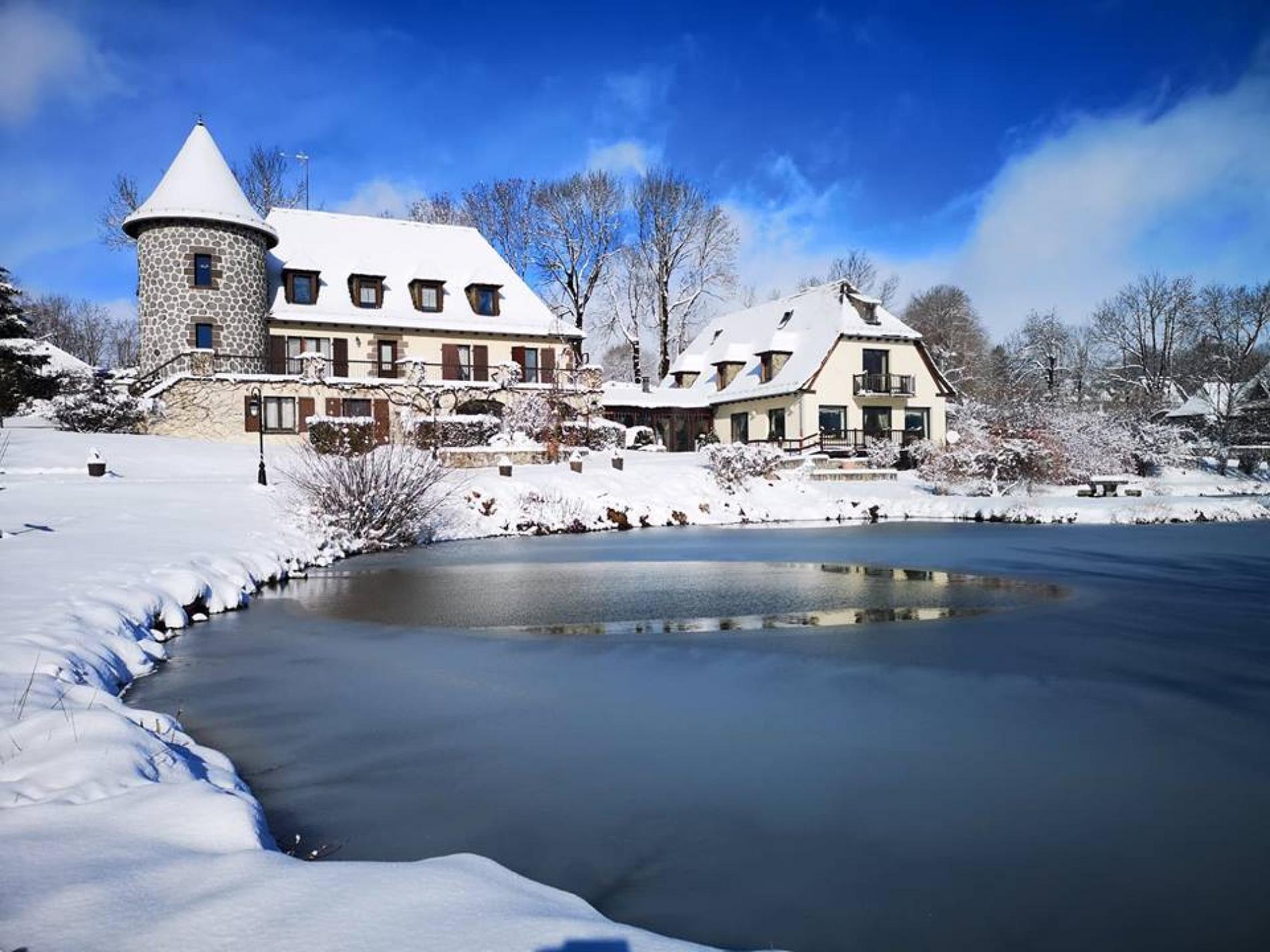 Chez Marie en hiver