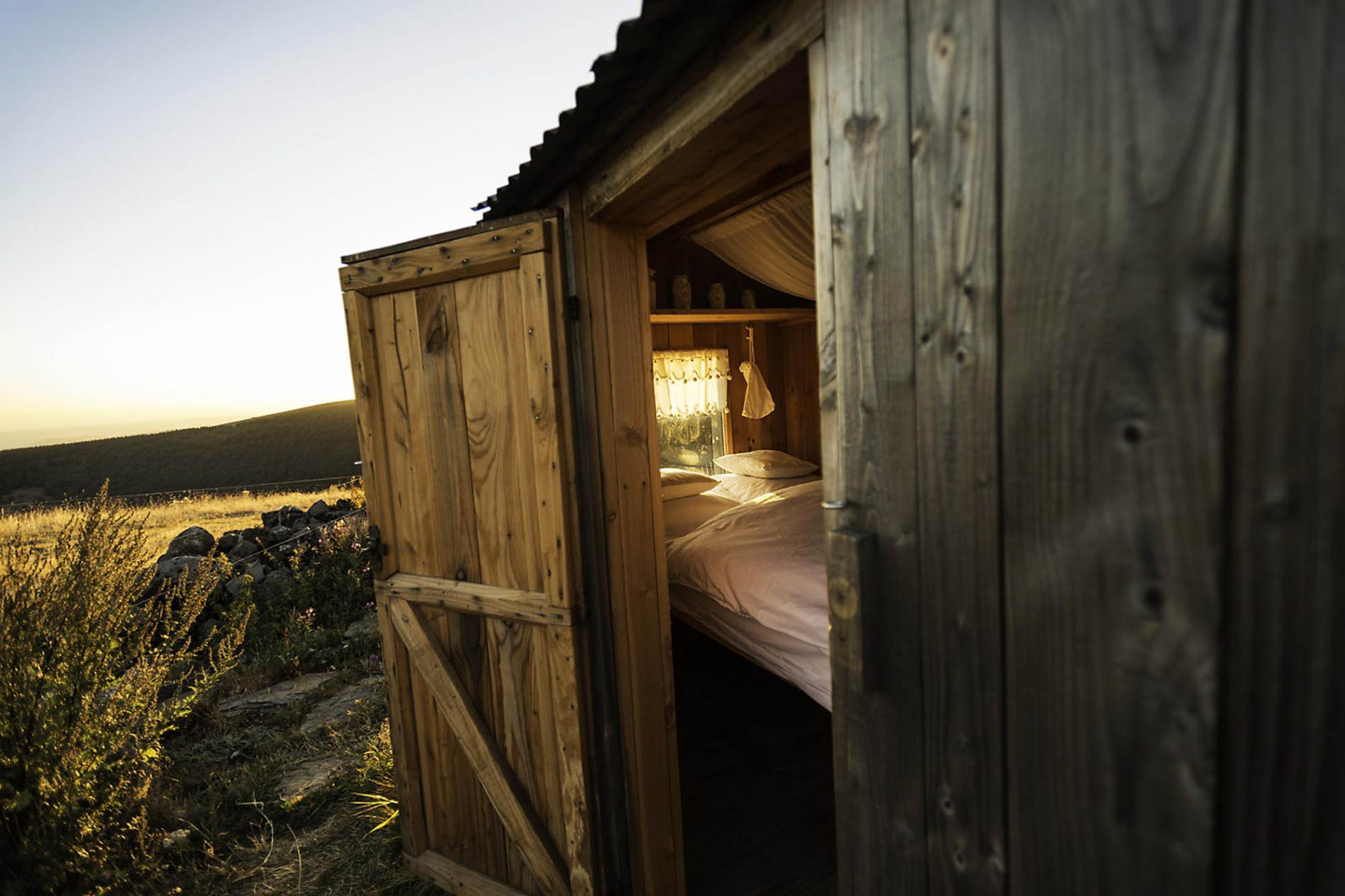 La nuit en cabane