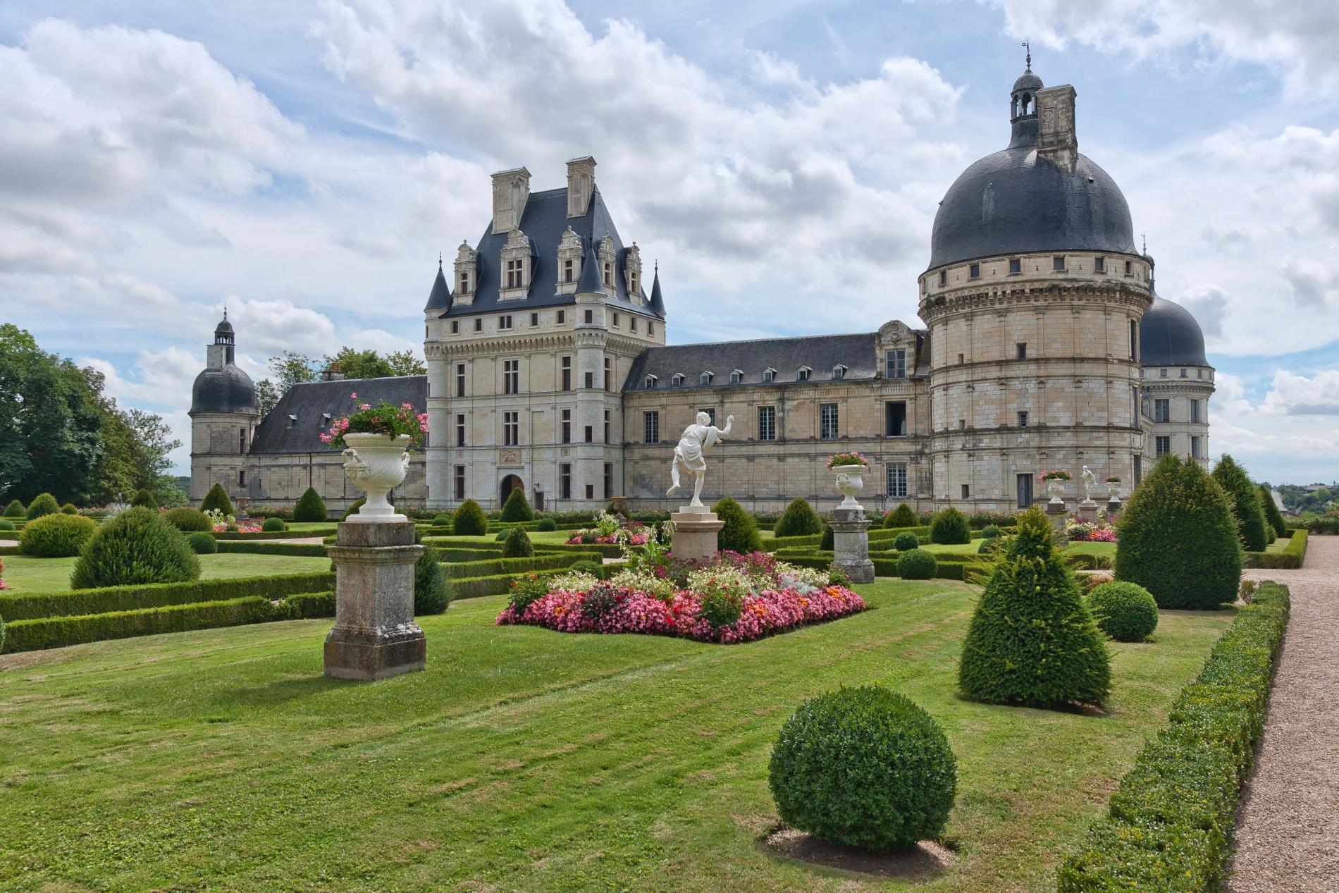 The castle of Valençay