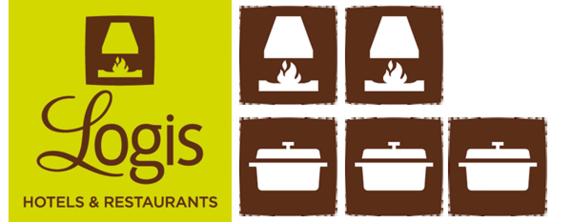 Logis Hôtel  2 cheminées et 3 cocottes à Chasseneuil sur Bonnieure