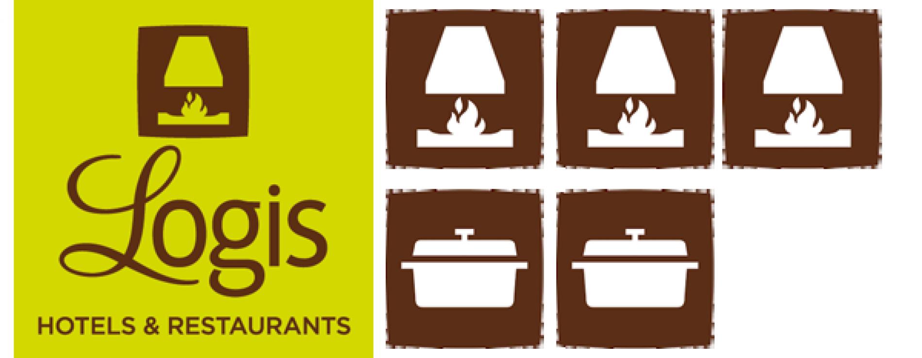 Logis hotel 3 cheminées et 2 cocottes Deauville Saint Gatien
