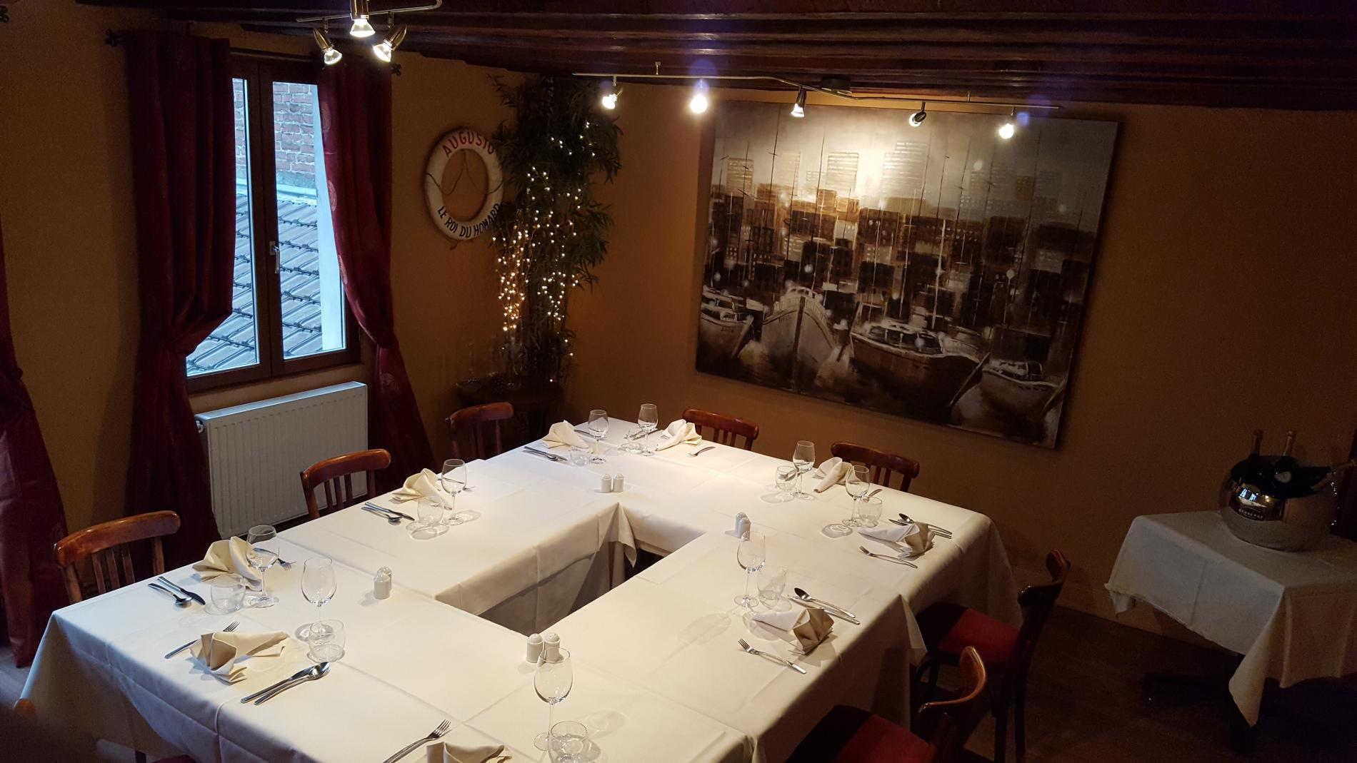 Restaurant spécialité Homard