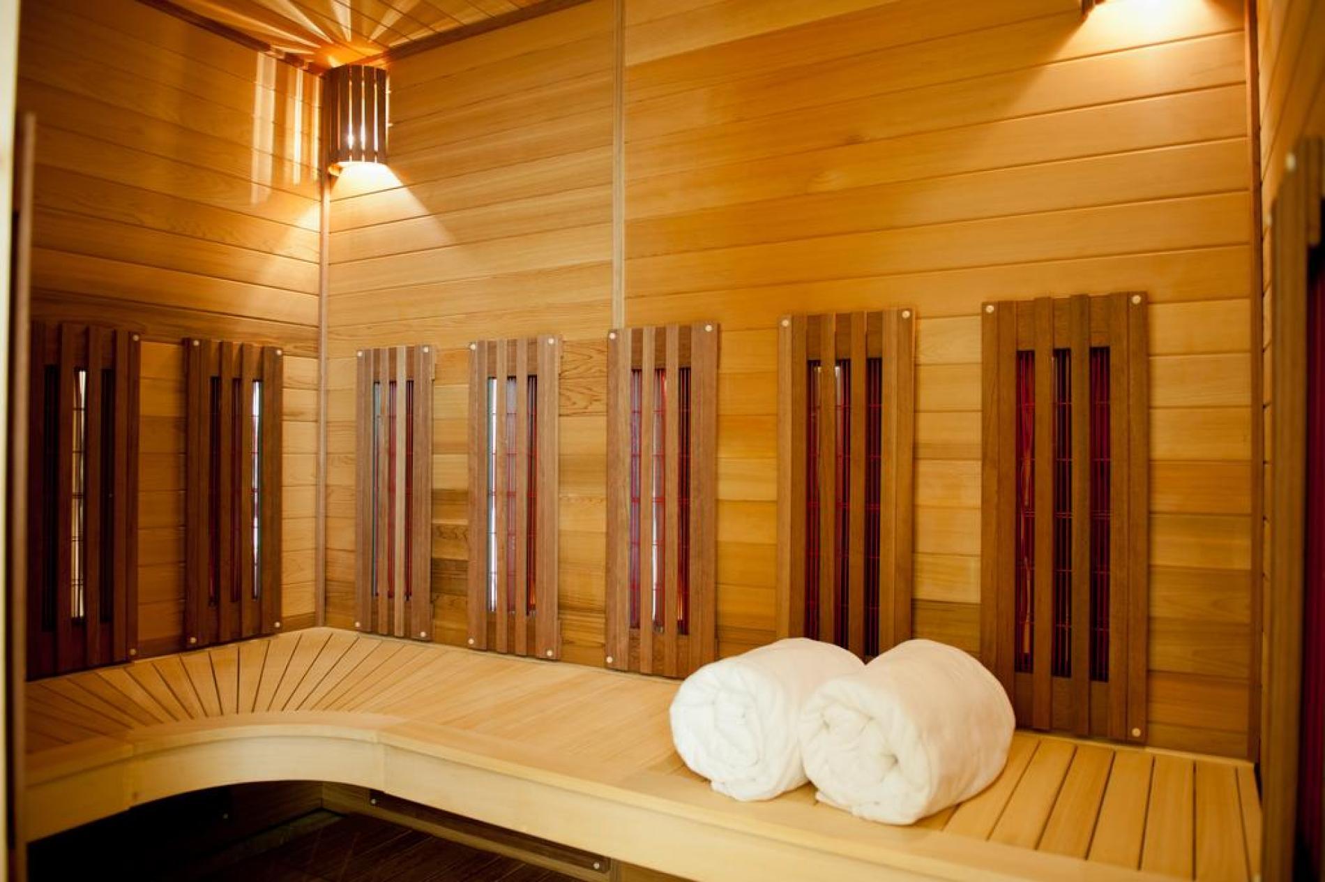 Sauna en accès libre de 17h00 à 19h00