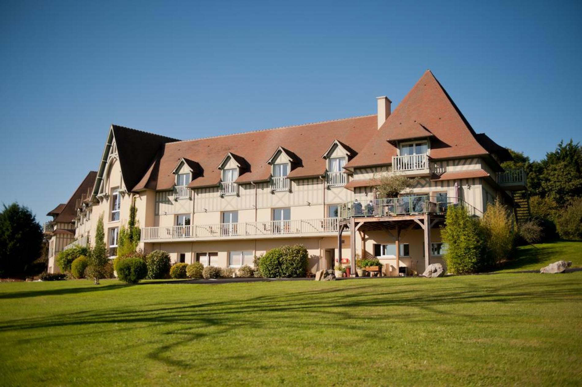 Hôtel de charme proche Deauville avec piscine intérieure