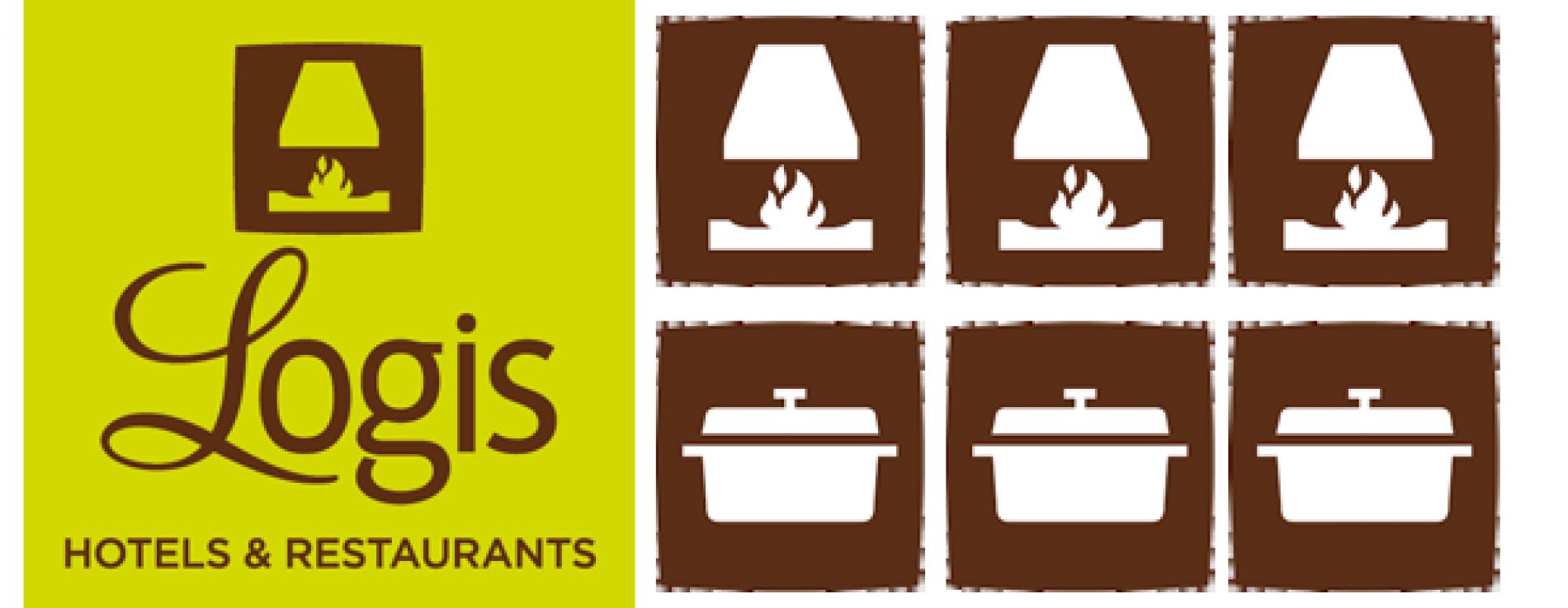 Logos logis hôtel des Lacs, Celles sur Plaine - Vosges