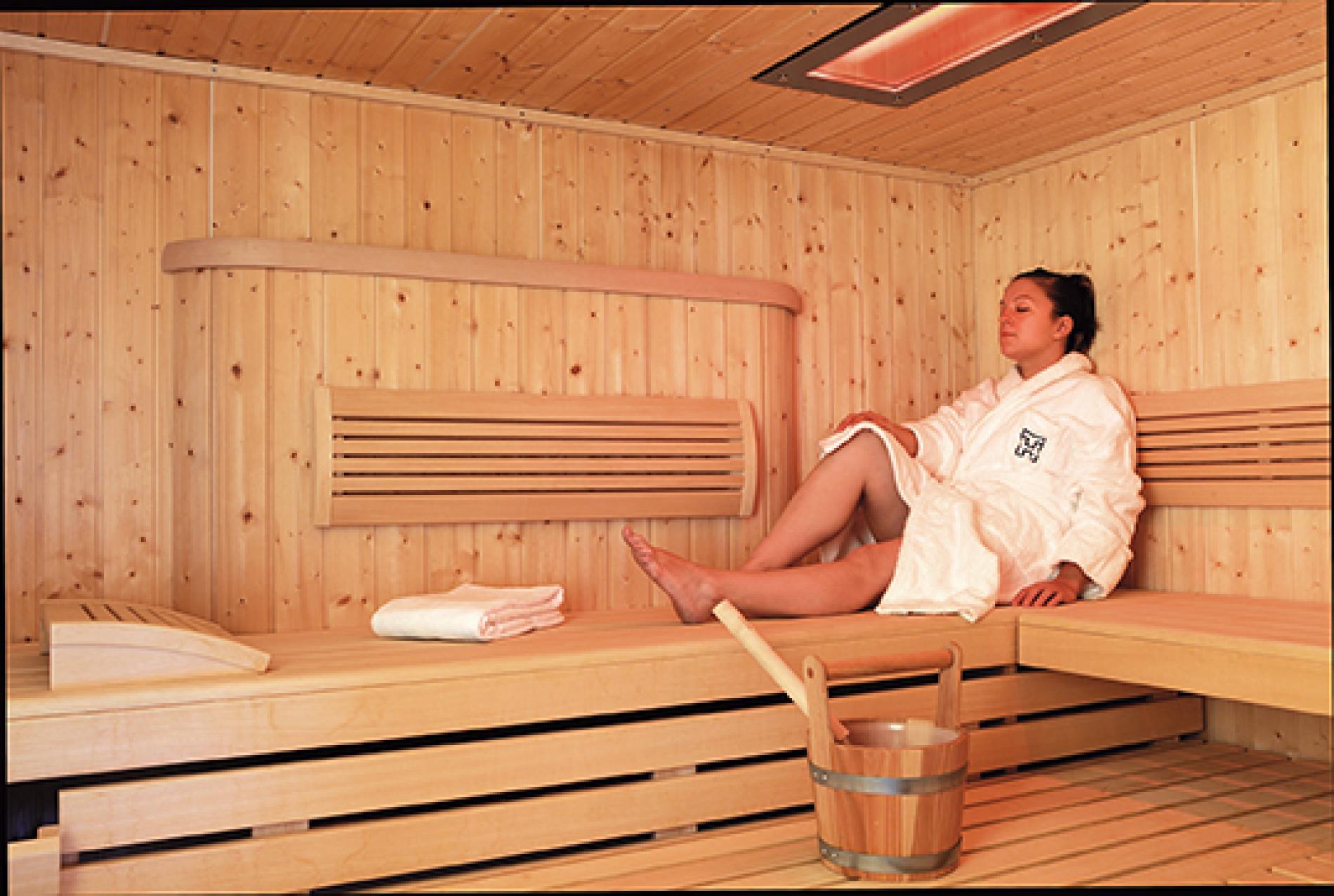 Sauna finlandais