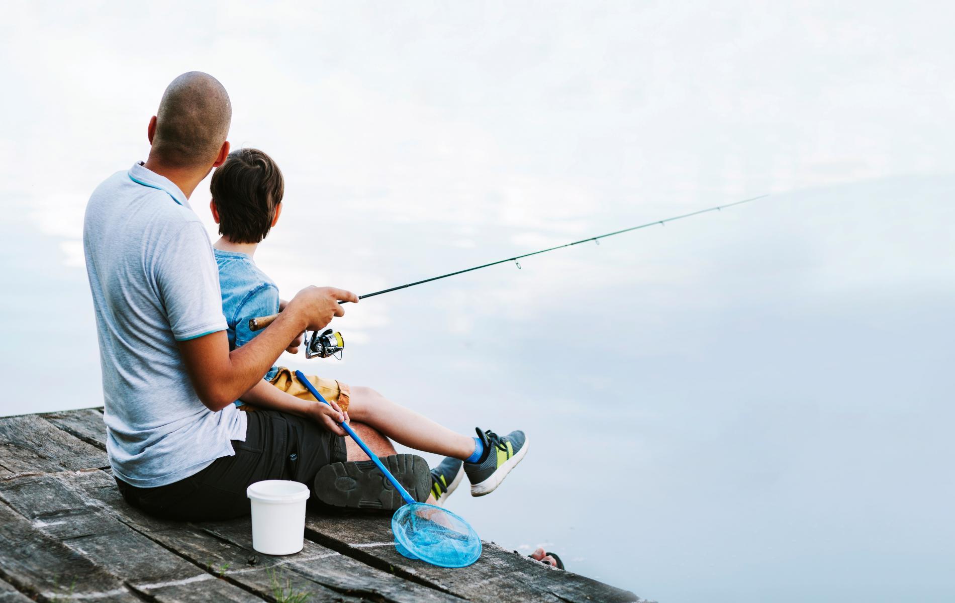 La pêche dans les rivières du Cantal