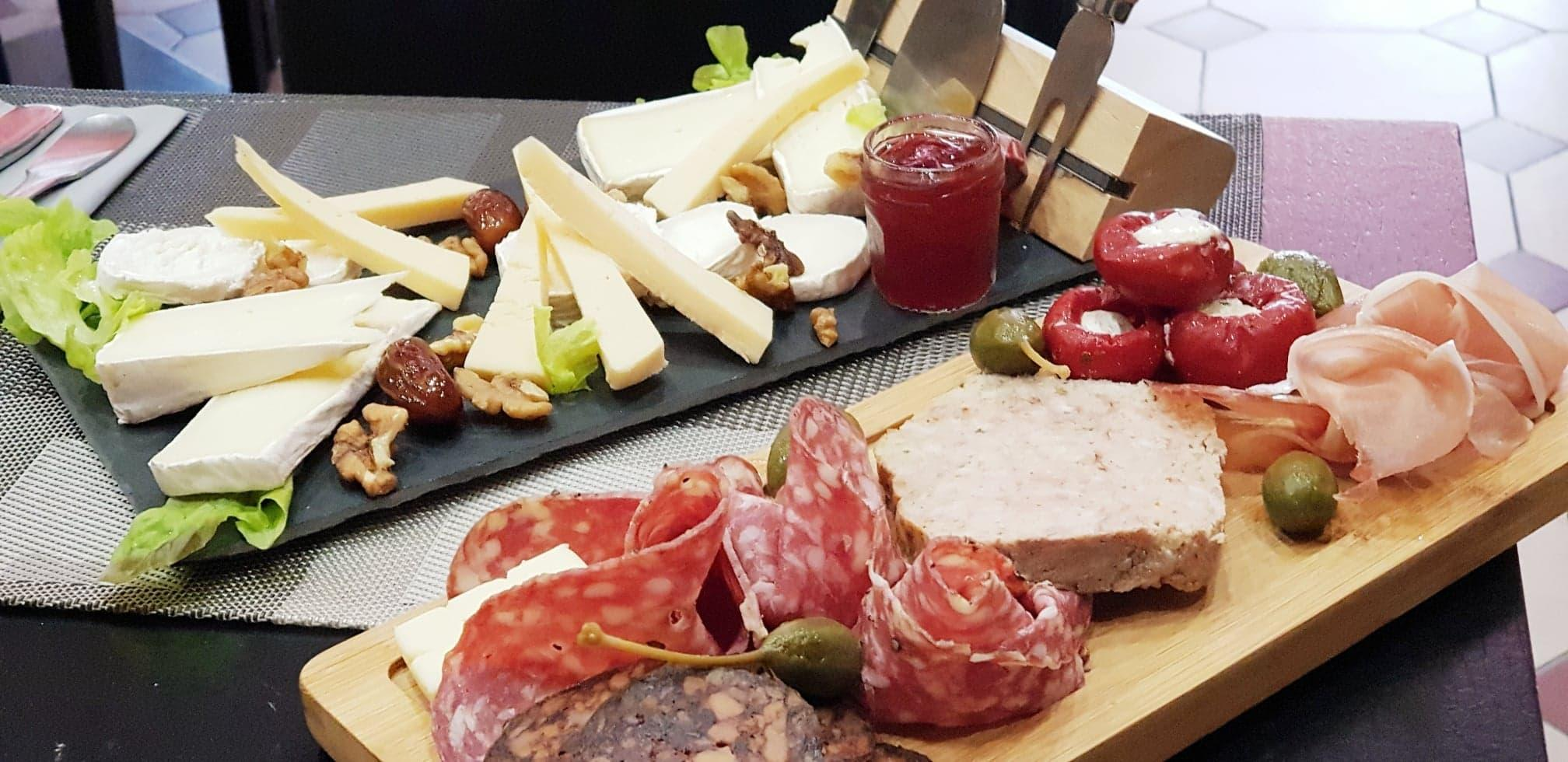 Plateaux charcuteries / fromage