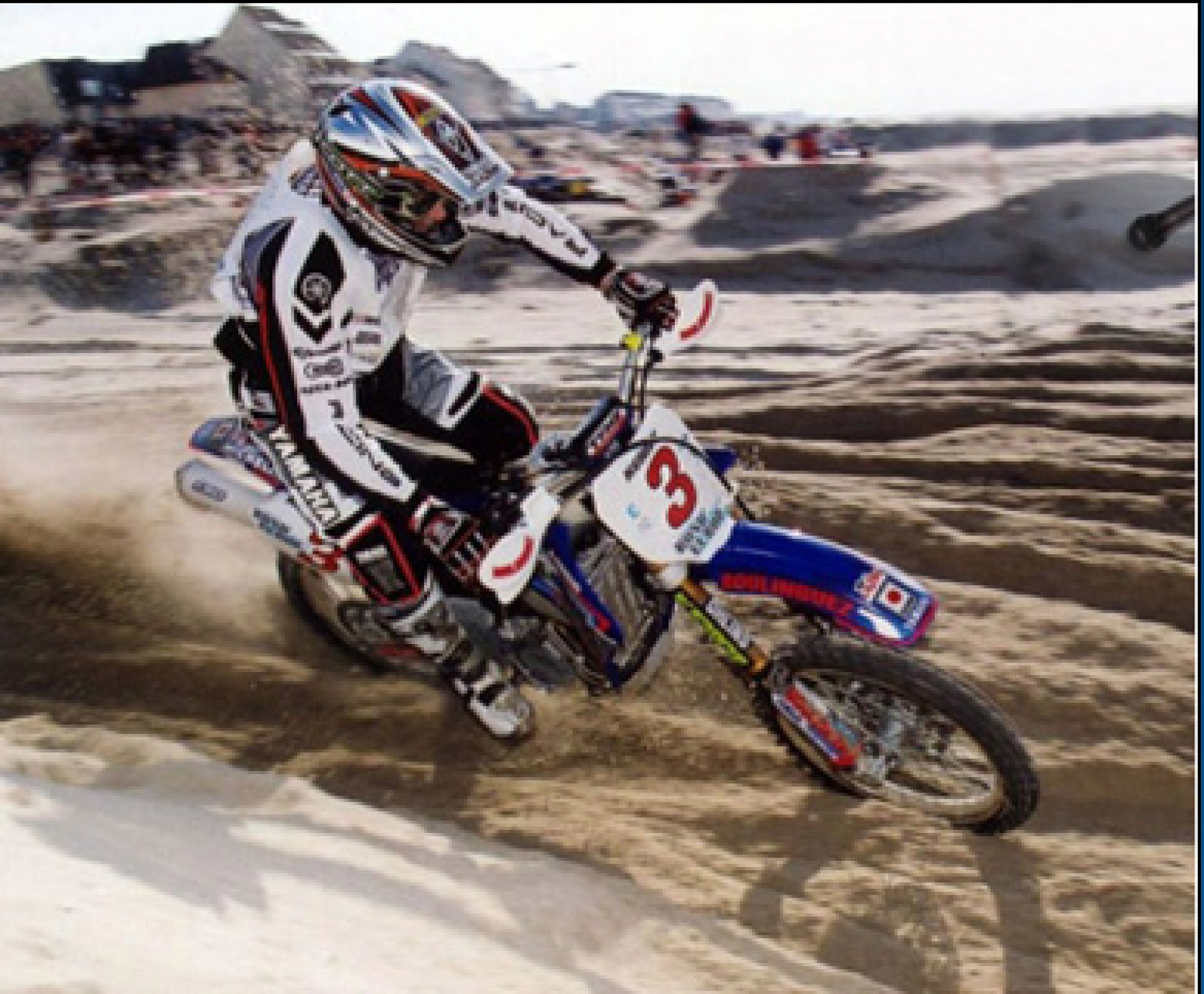 The DAVID HAUQUIER motocross school