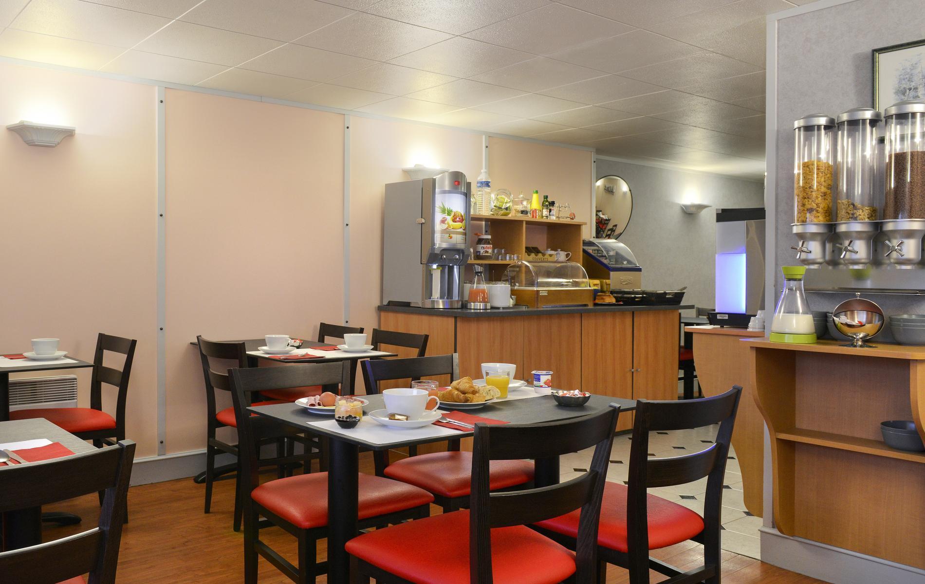 Salle des petit-déjeuners