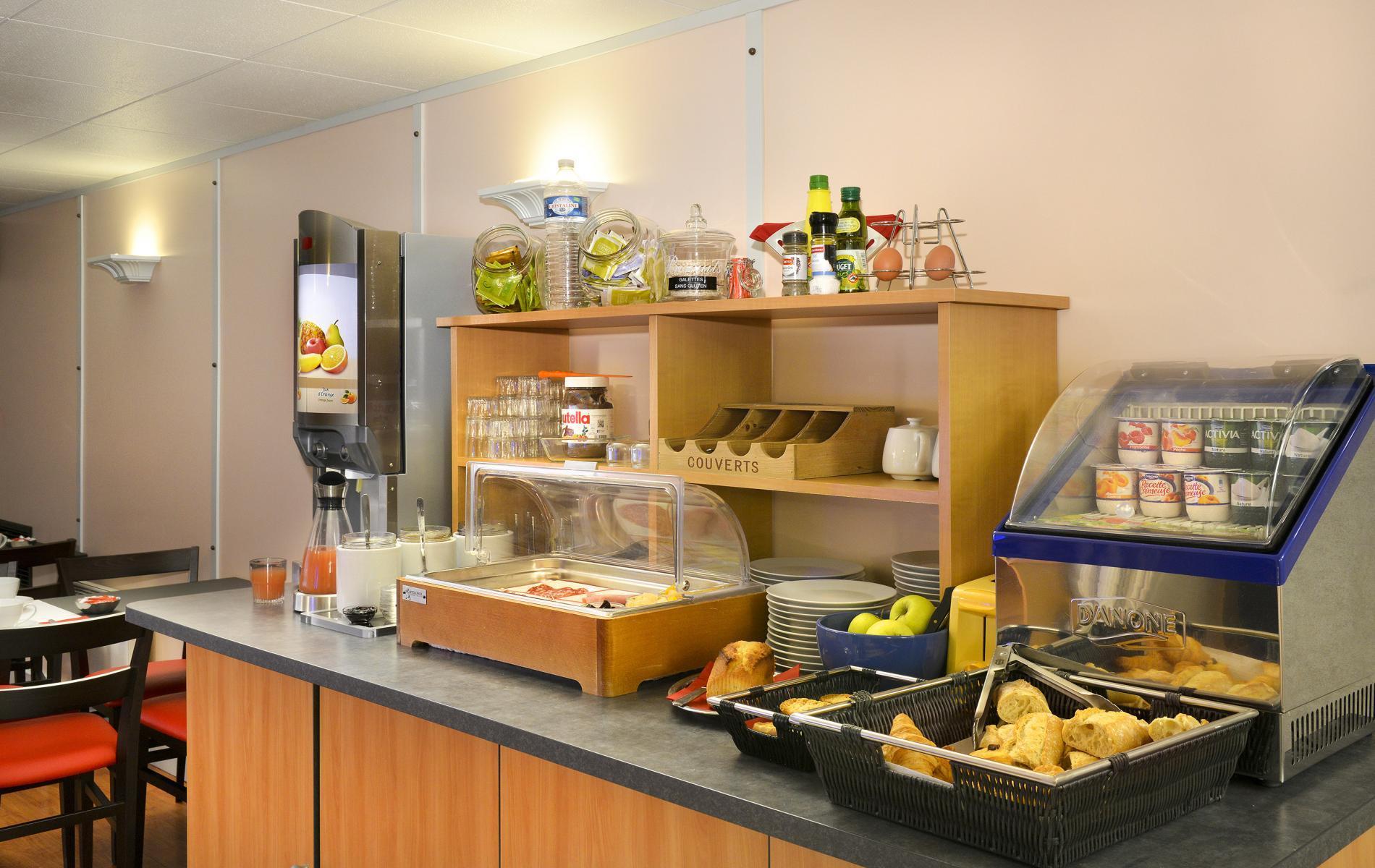 Buffet salle des petit-déjeuners
