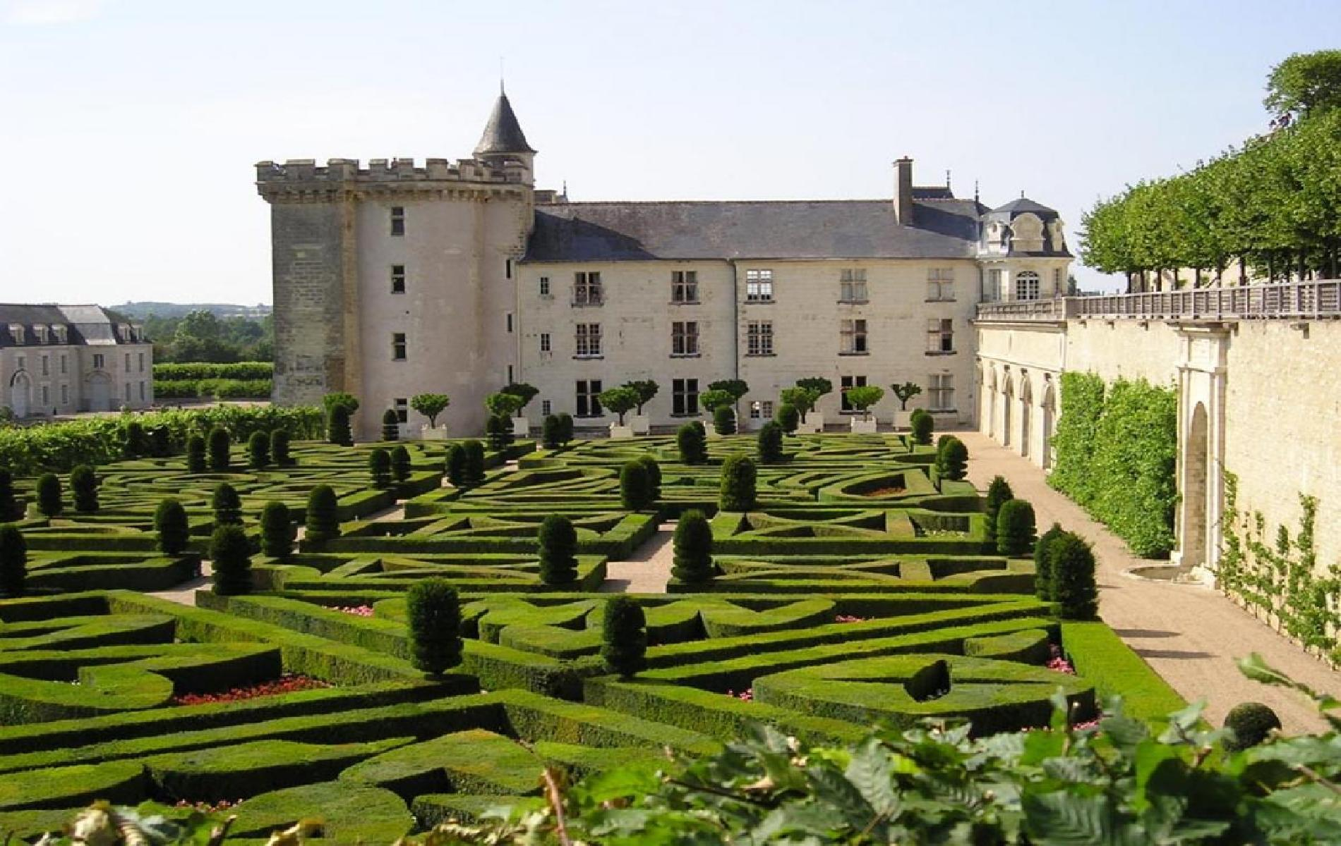 Villandry Castle and Park
