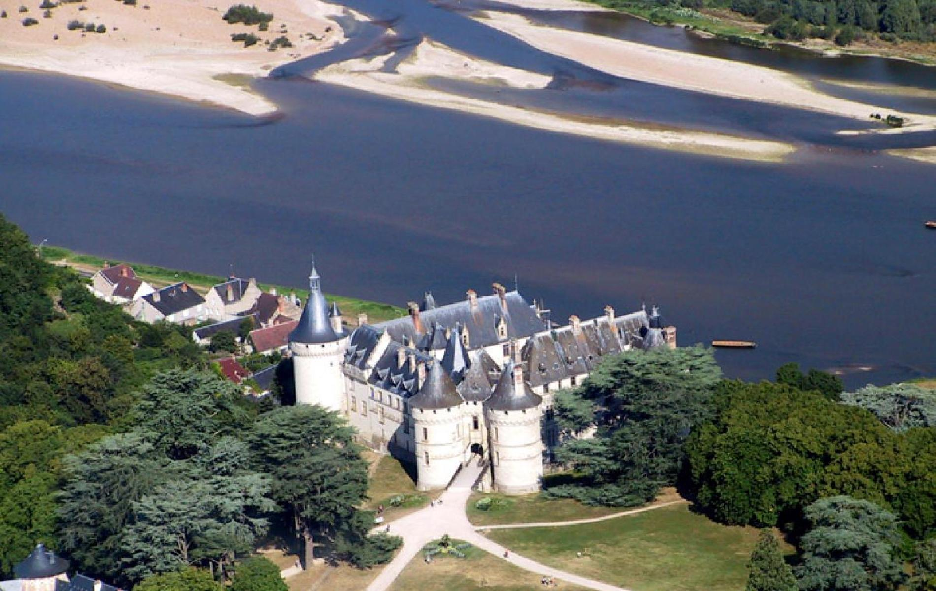 Chateau and Park of Chaumont Sur Loire