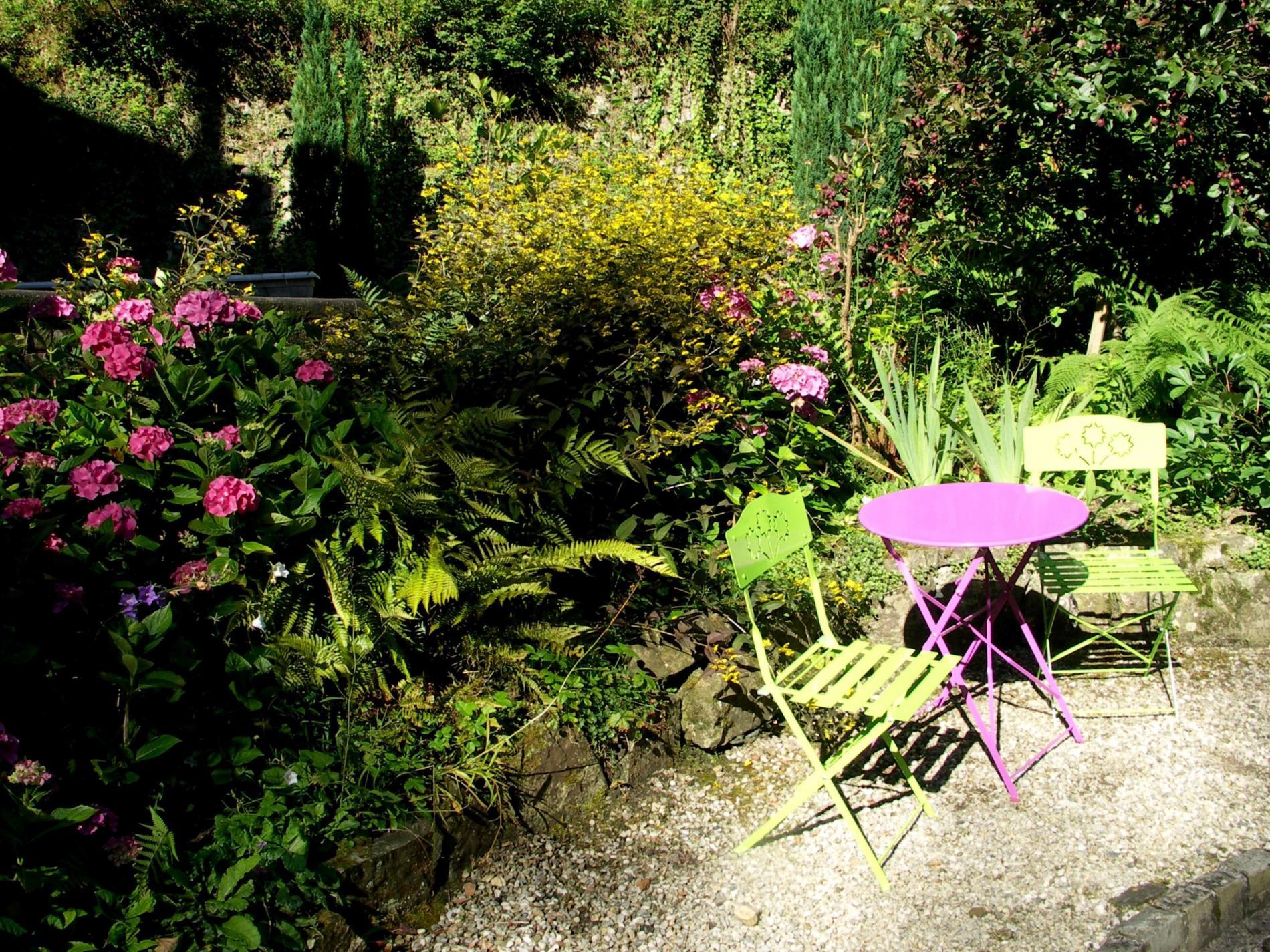 Jardin, Hôtel SPA Le Roc au Chien à proximité des thermes à Bagnoles-de-l'Orne Normandie