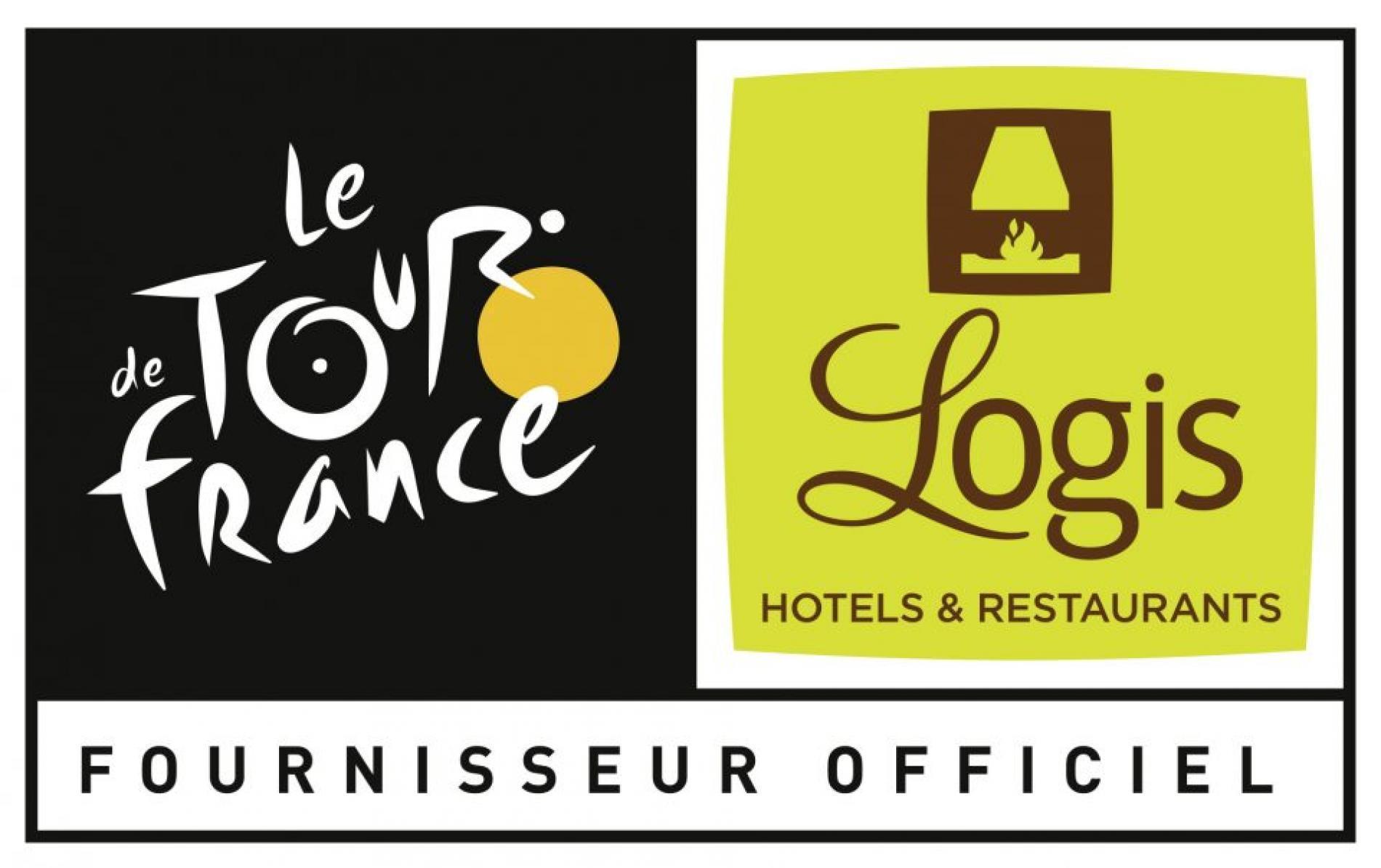 Logo logis partenaire officiel du Tour de France