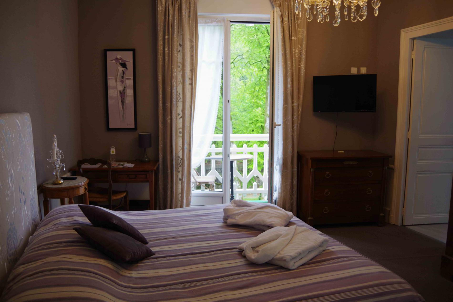 Chambre prestige avec balcon