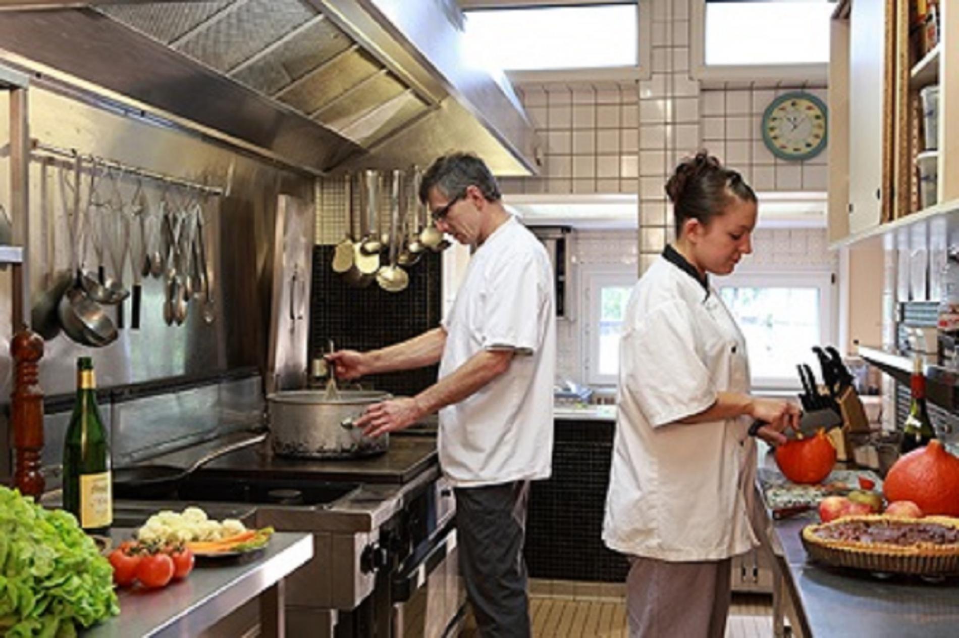 Chefs en cuisine