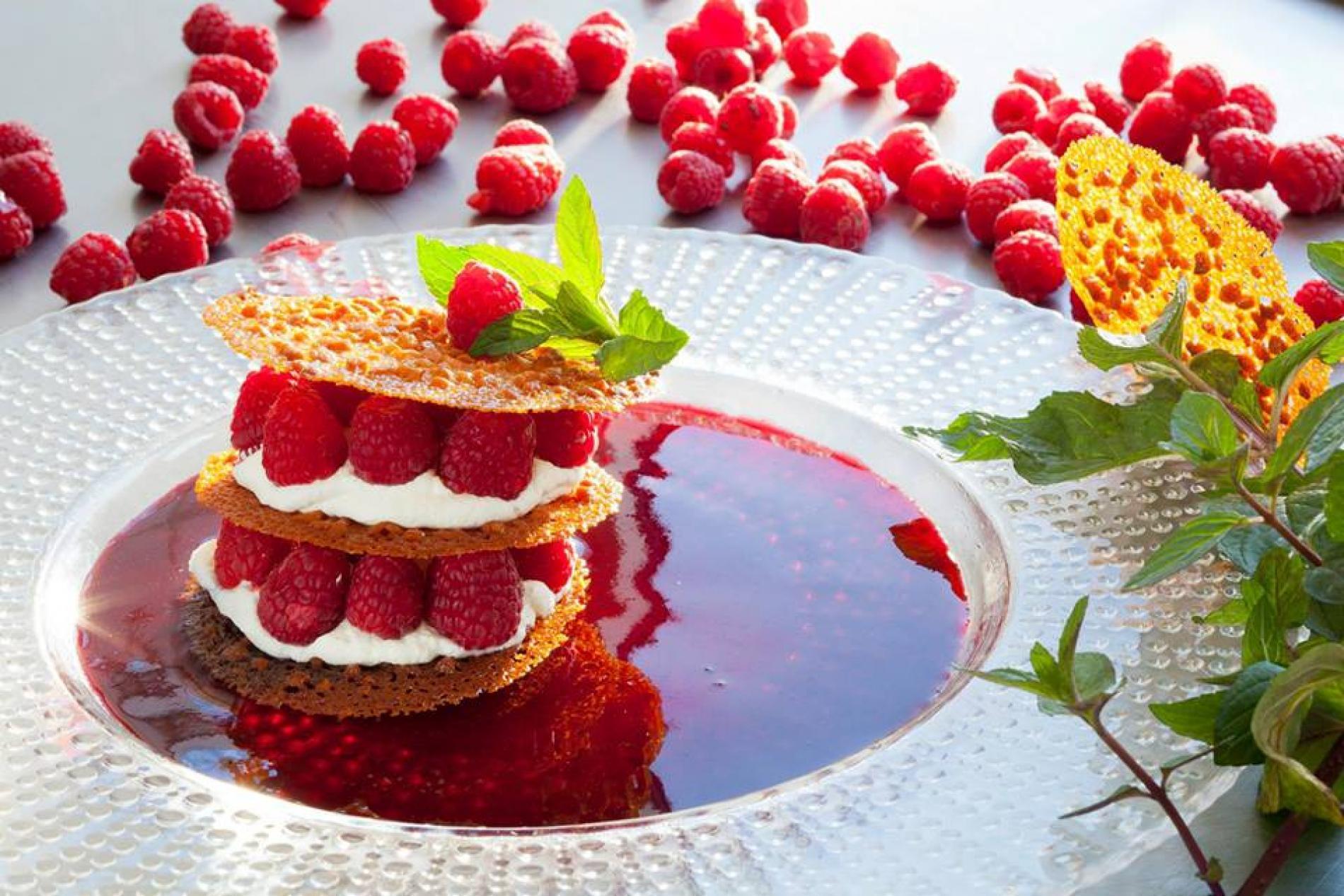 Les fraises du jardin a L'Oustal