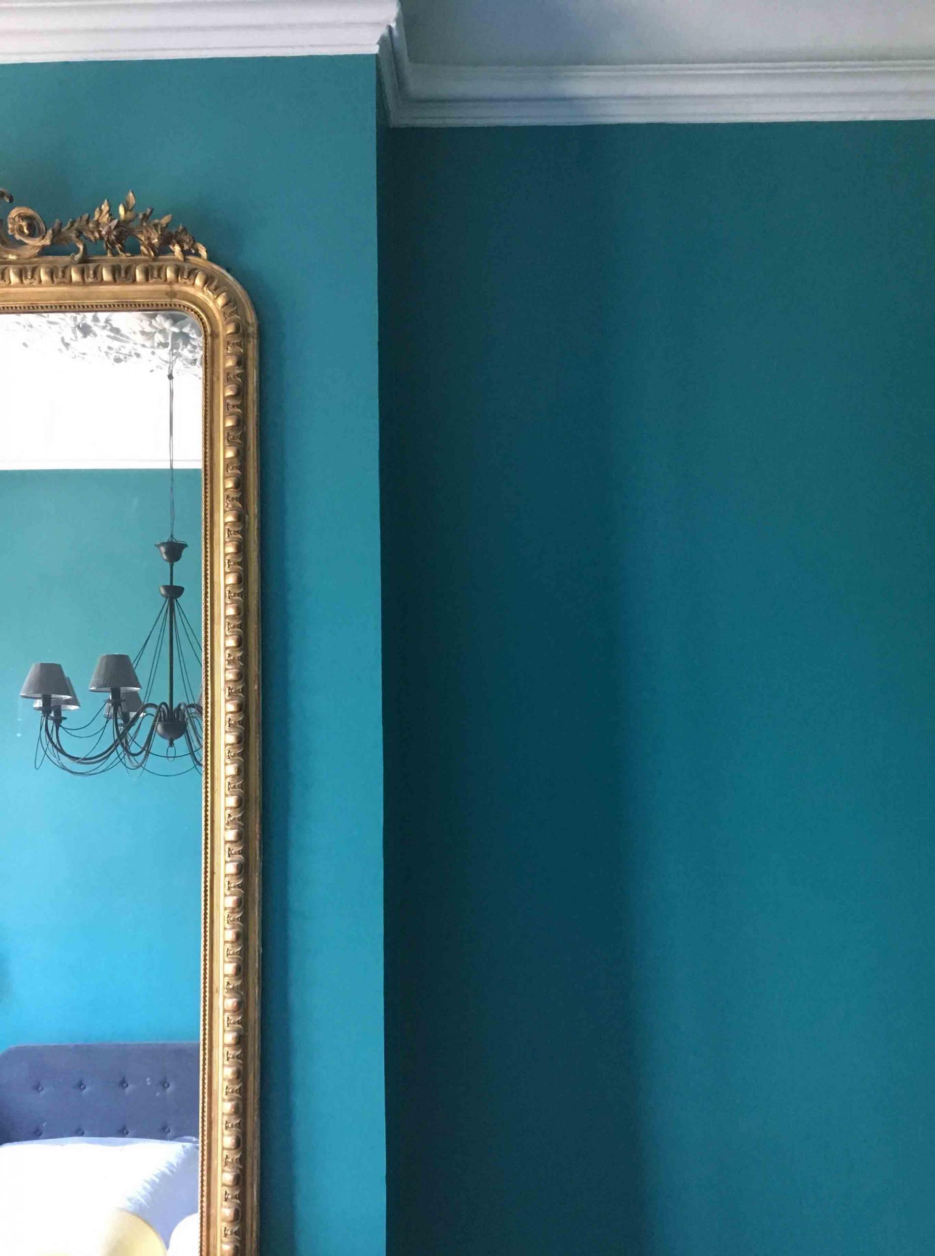 Nuance tout en bleu