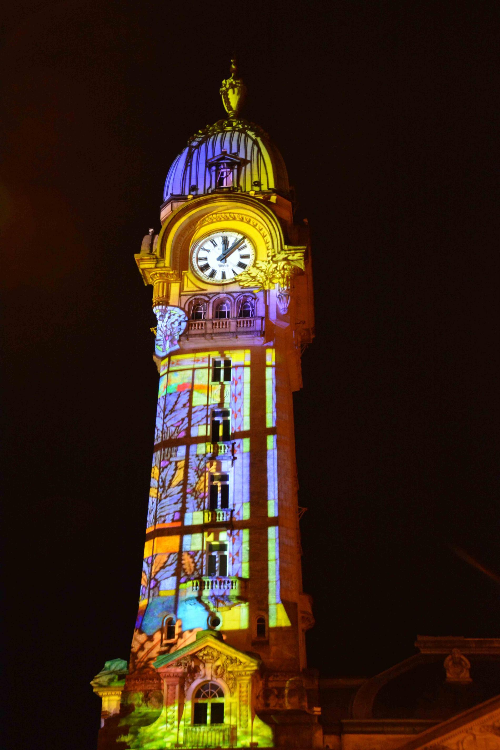 La Tour Horloge de la Gare des Bénédictins Fête ses 90 ans