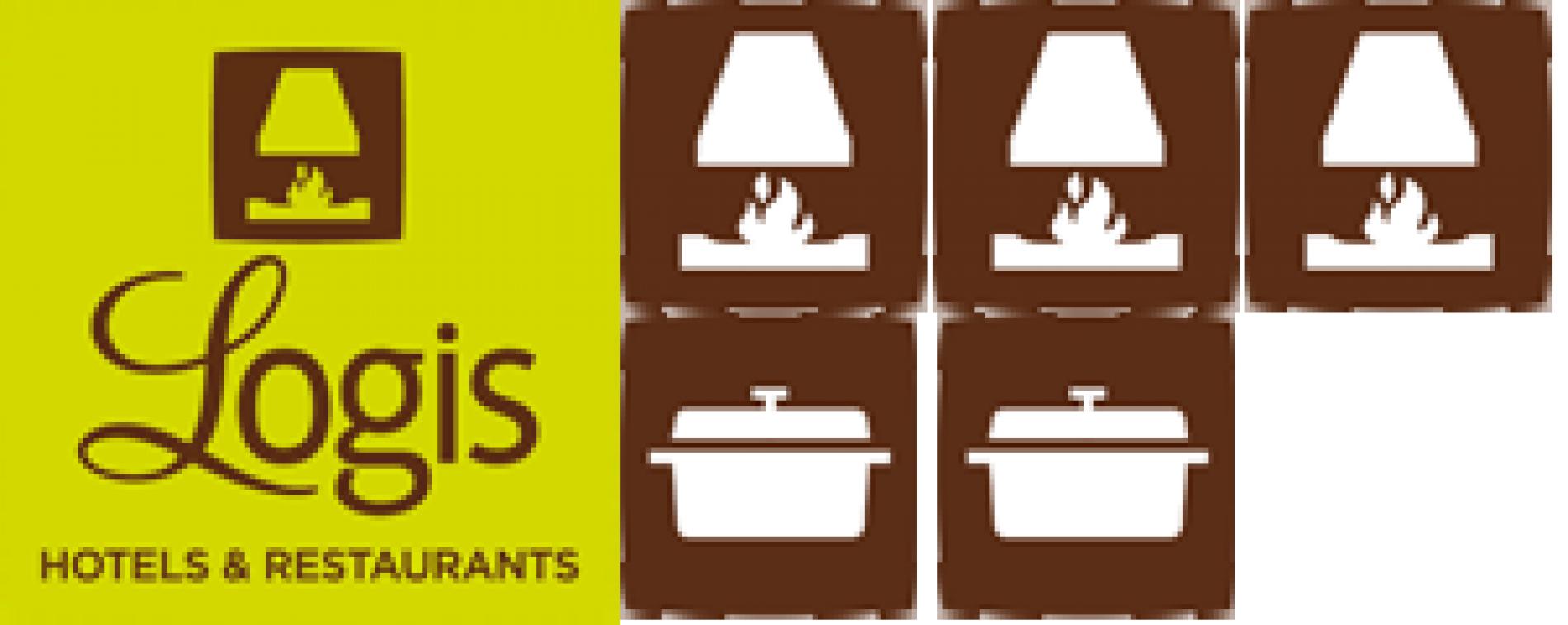 Logis Hotel 3 cheminées 2 cocottes