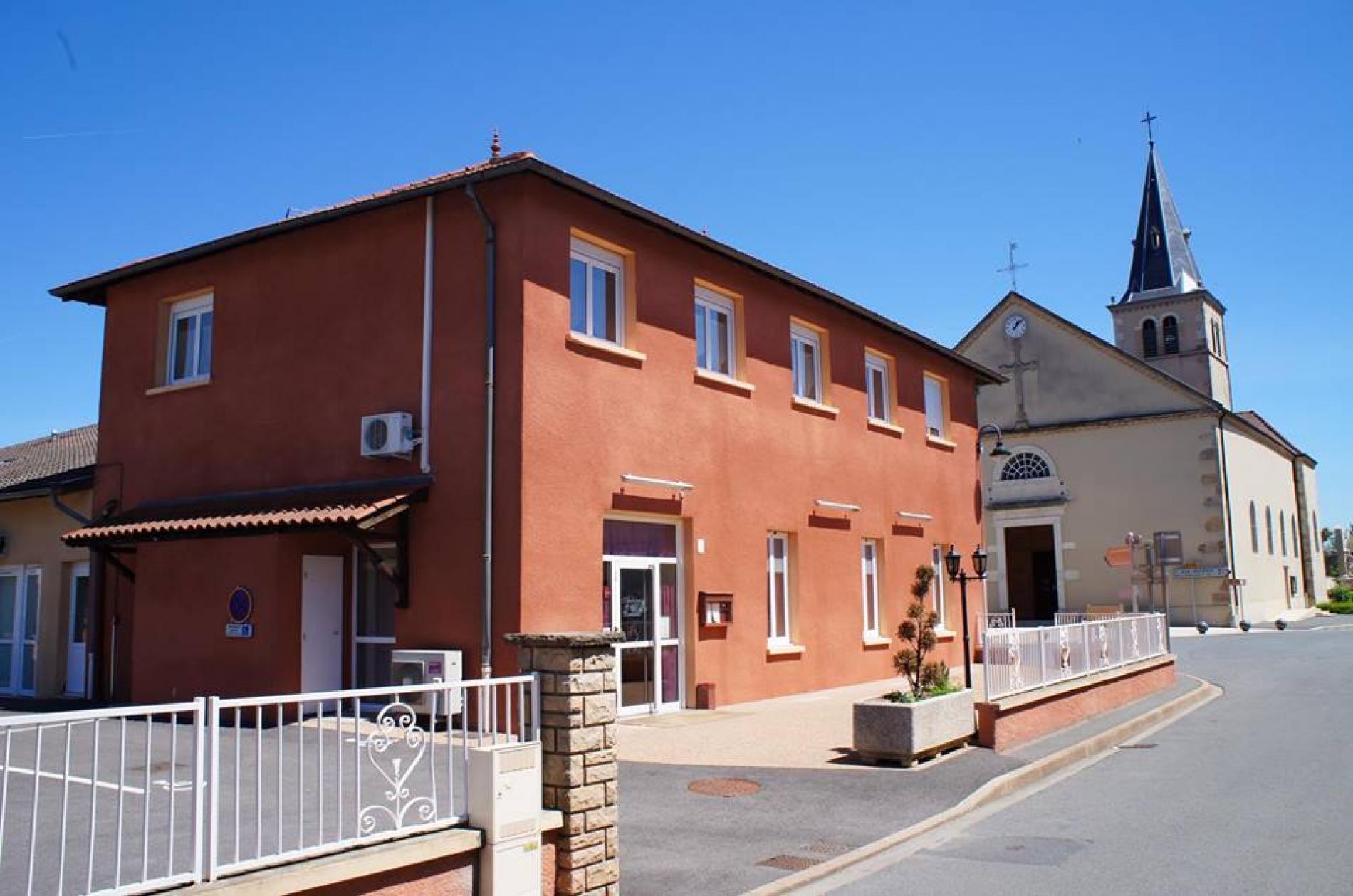Hôtel** en Beaujolais