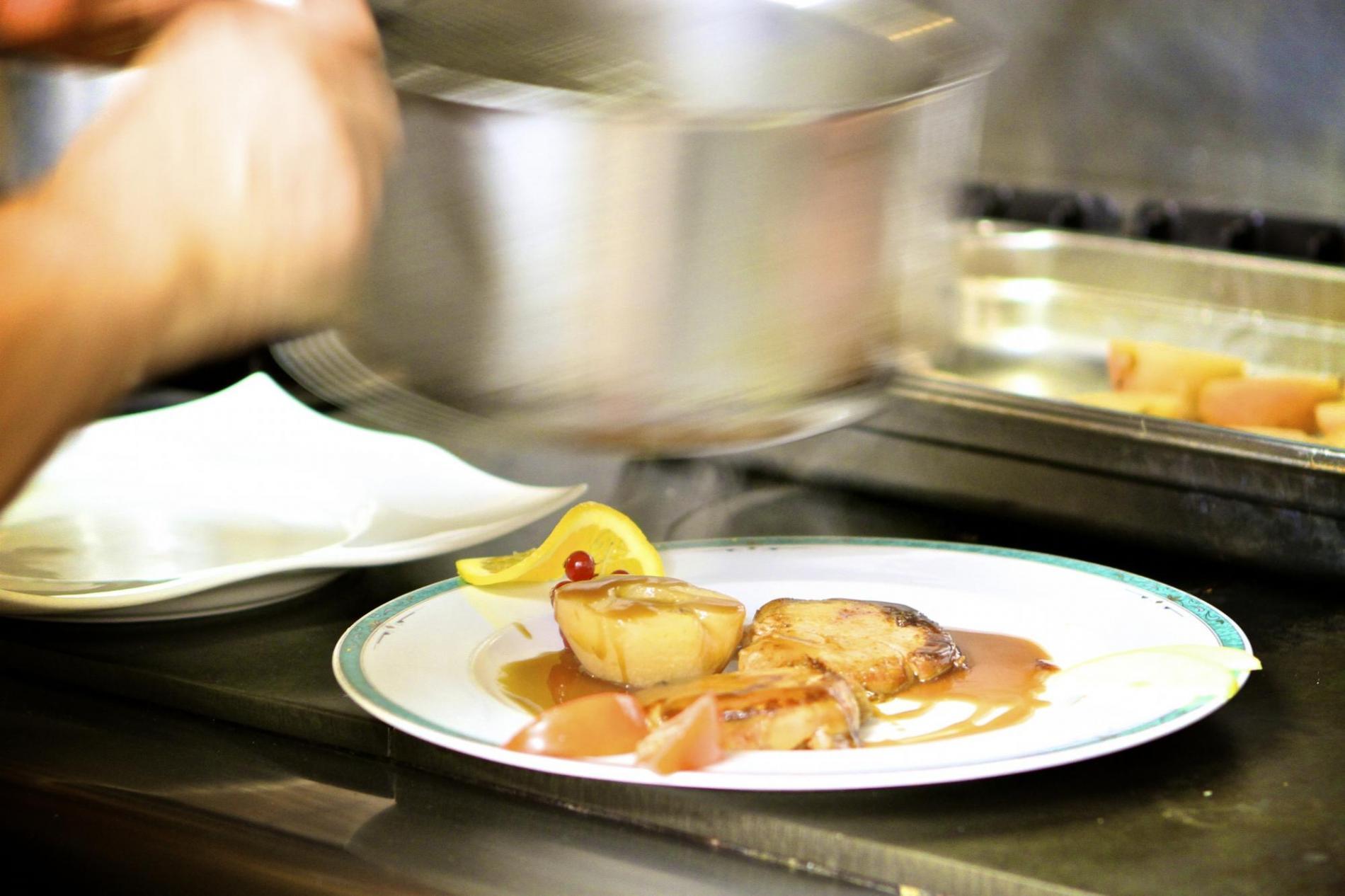 foie gras poêlé aux saveurs normandes