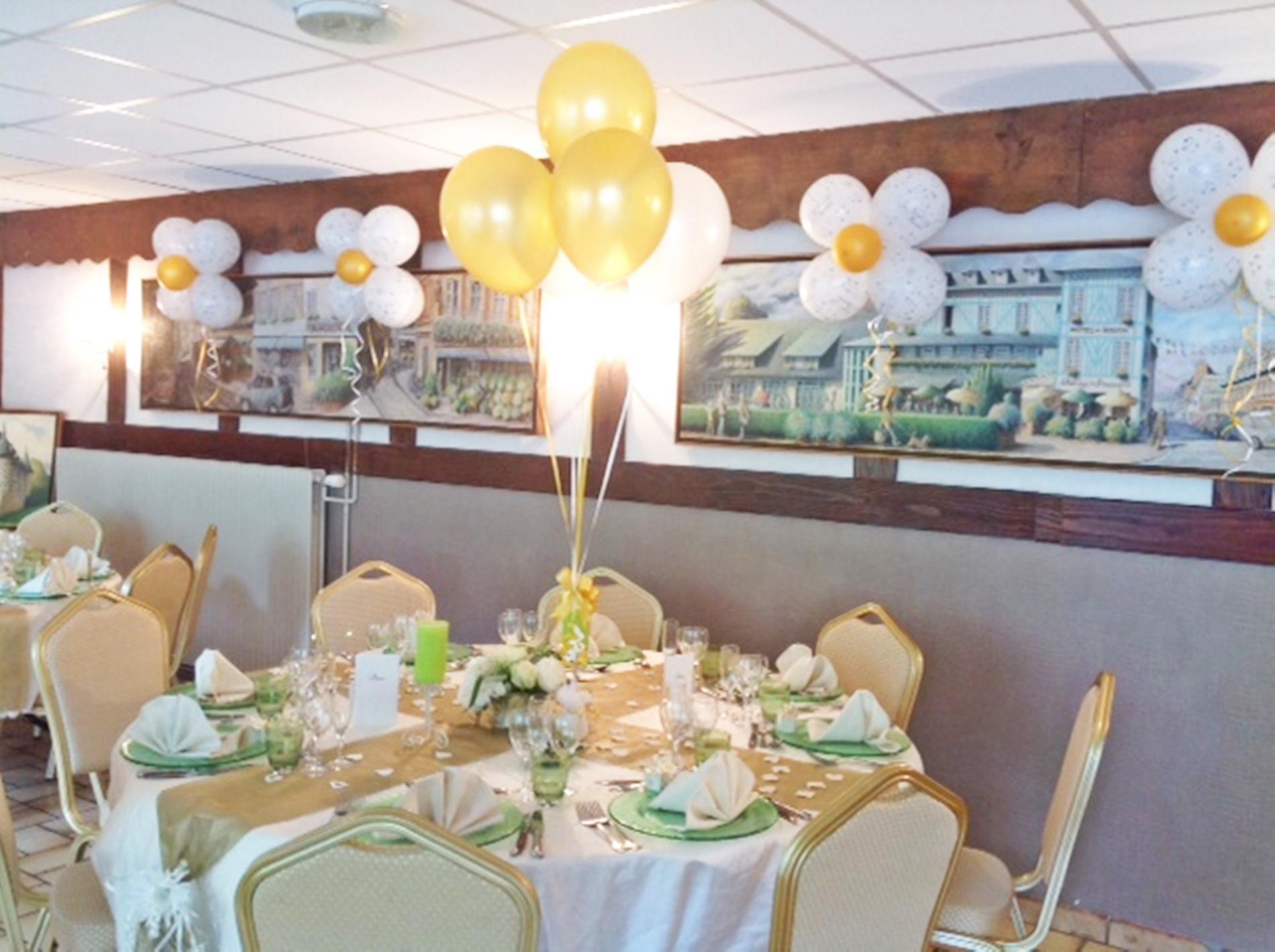 salle  banquet thème ballon