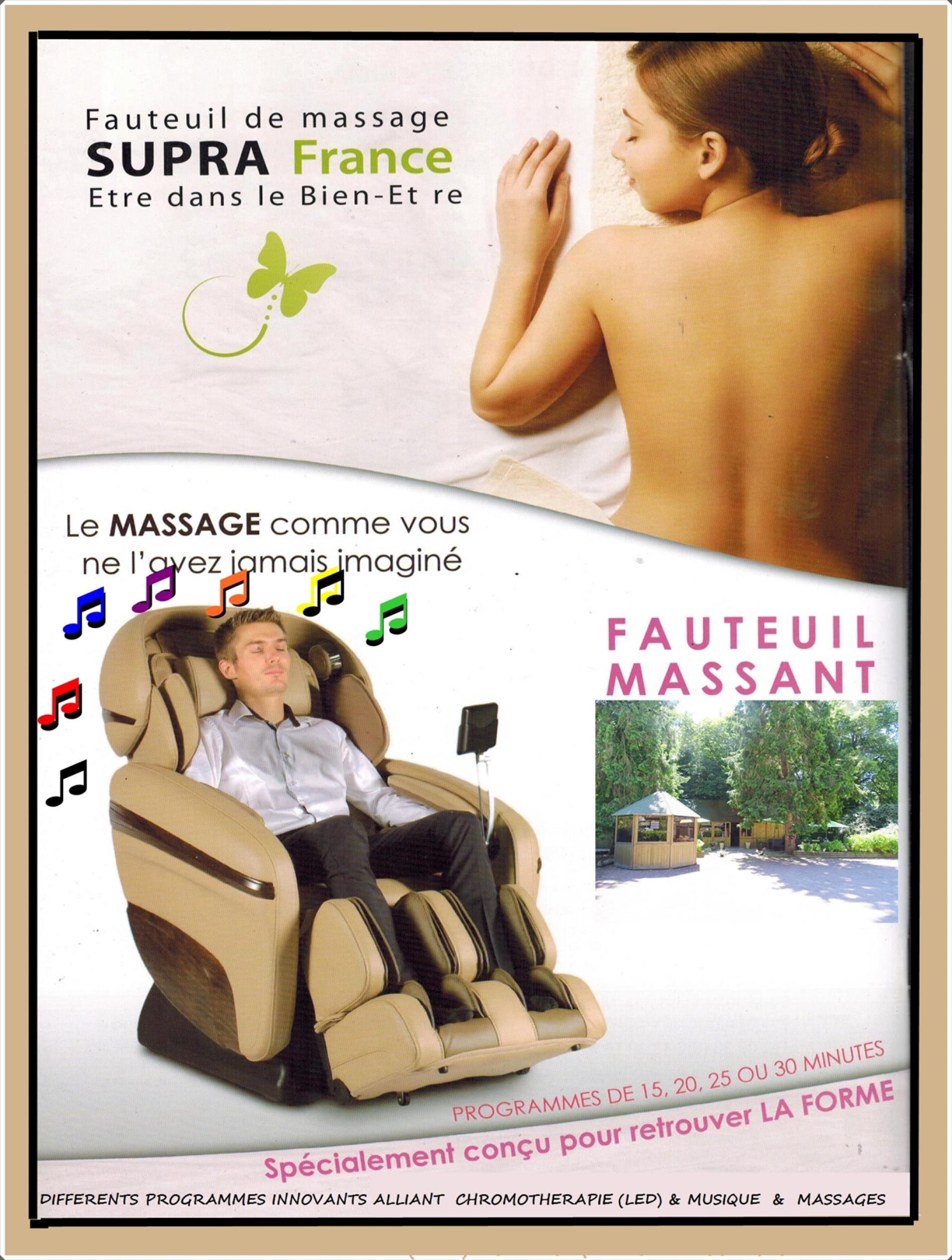fauteuils  de massage