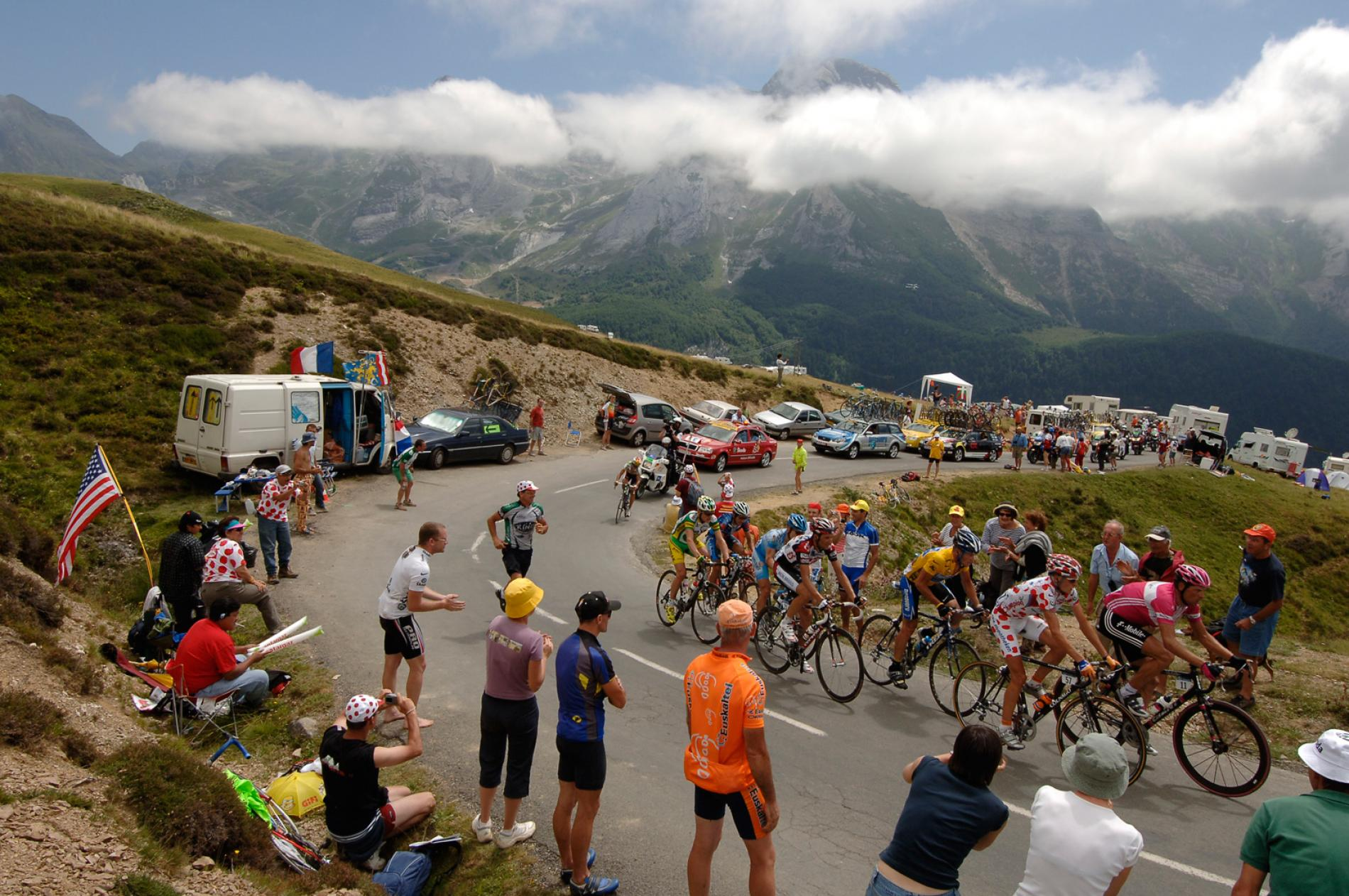 The Col Tourmalet (2115 m) by bike