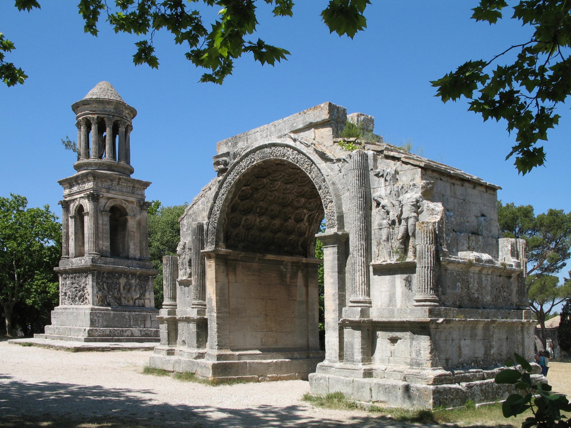 Les antiques à Saint Rémy de Provence