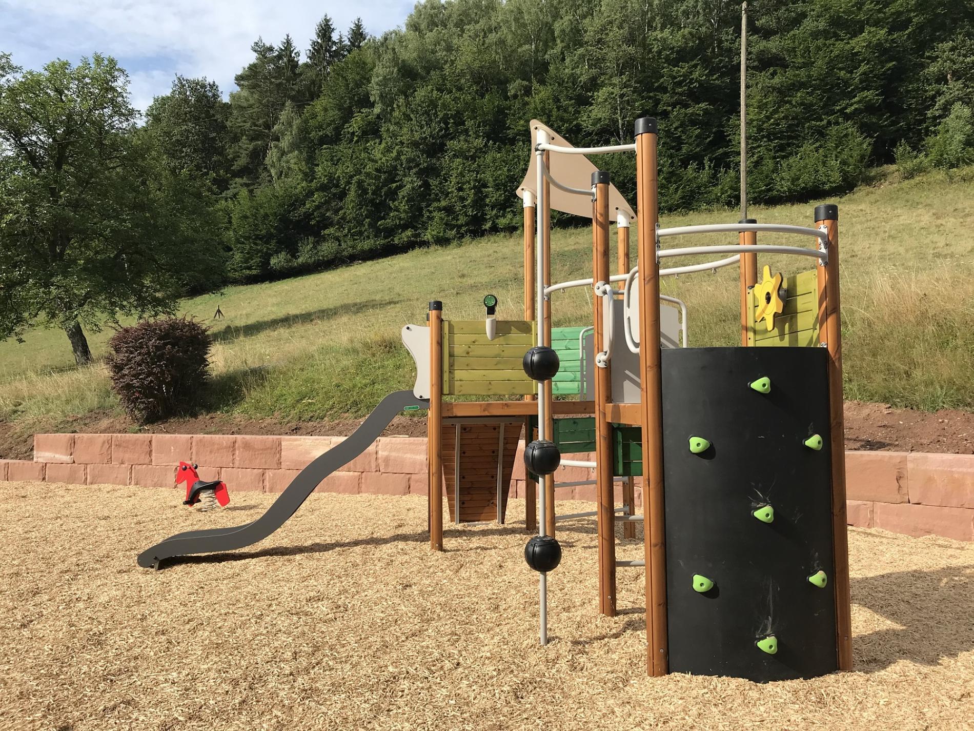 Aires de jeux pour les enfants