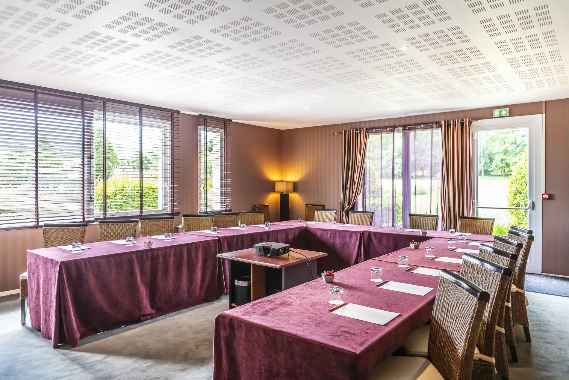 Salle de séminaire à Deauville