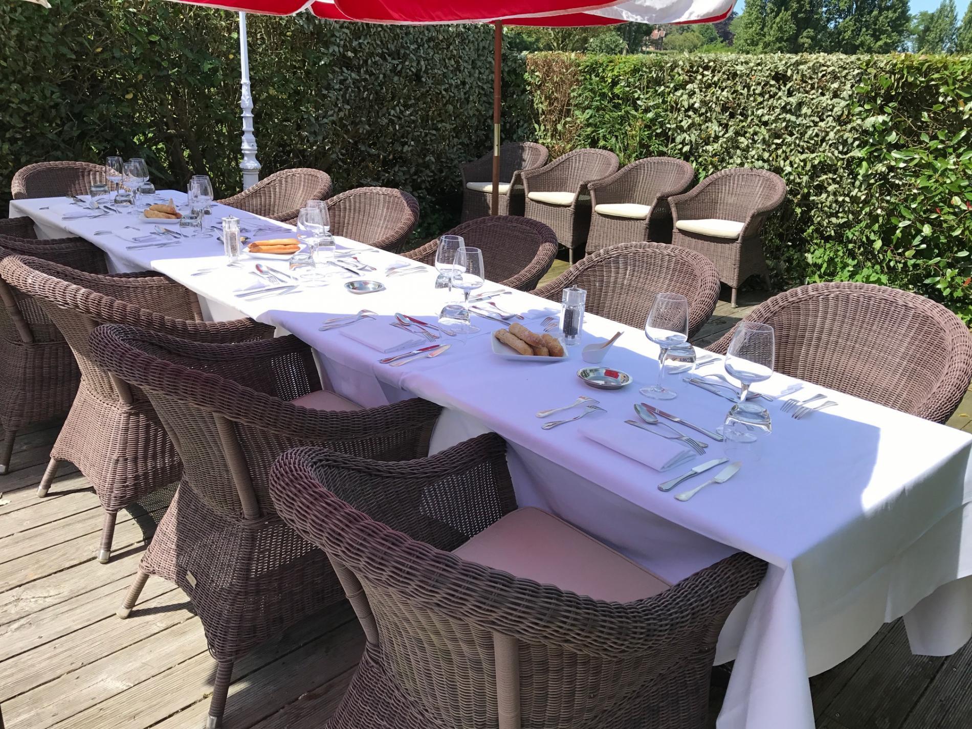 Déjeuner d'affaires en Normandie