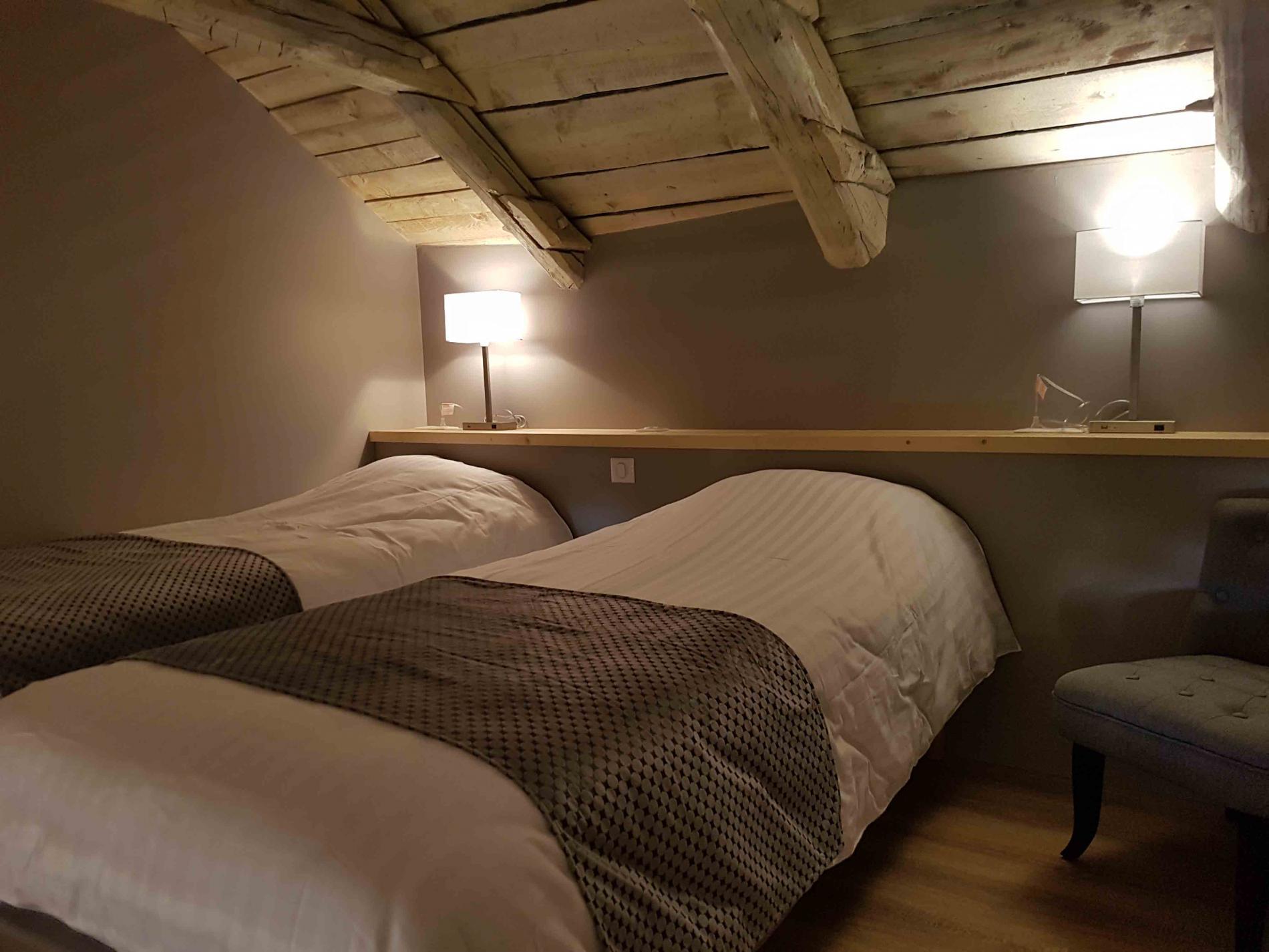 mezzanine chambre 21