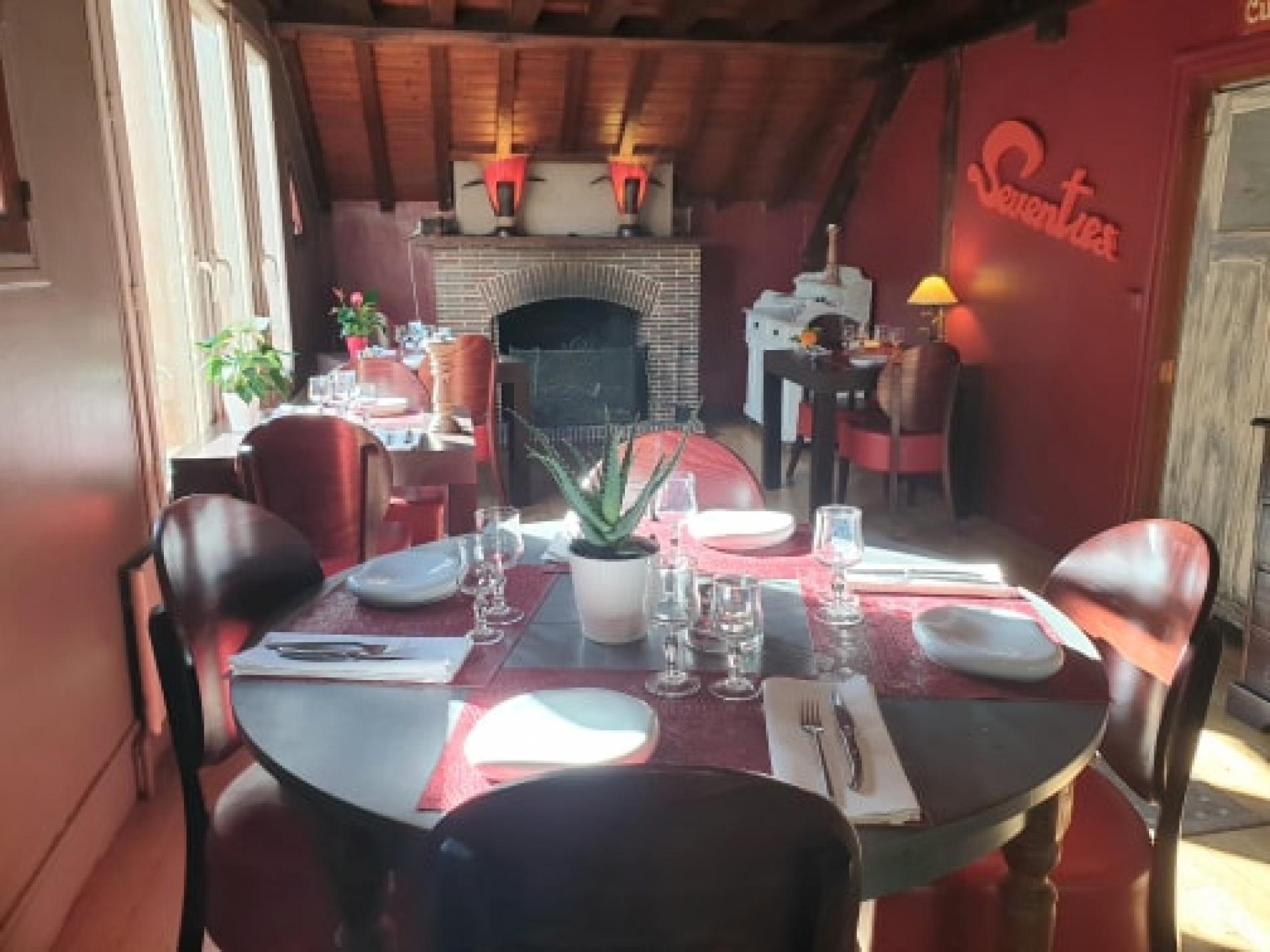 Restaurant Cote cheminée pour l'hiver