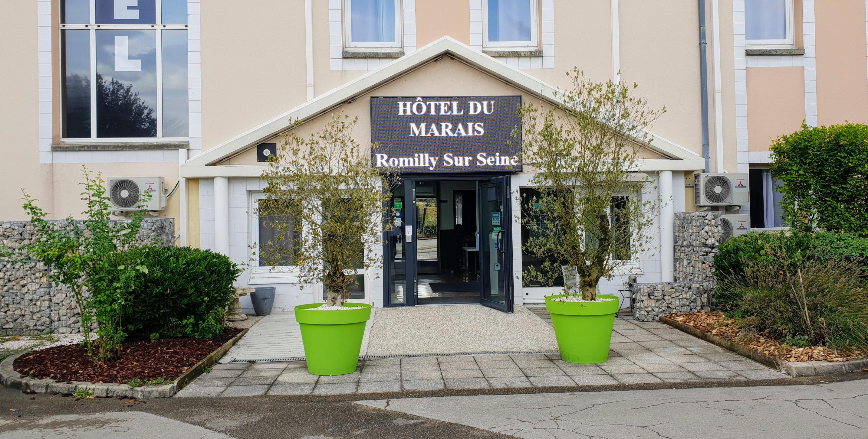 Hôtel du Marais à Romilly sur Seine