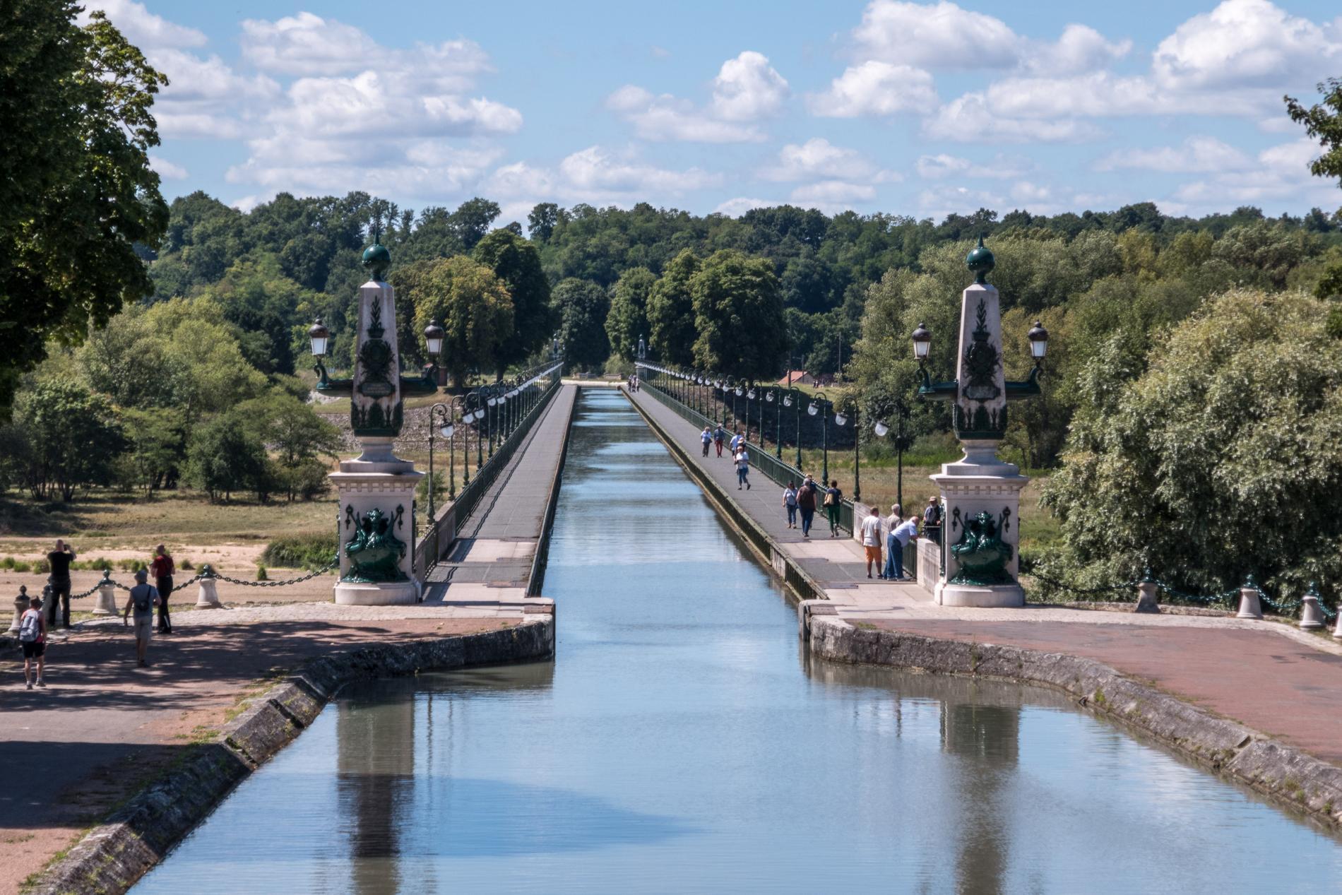 Le pont-canal de Briare signé Eiffel
