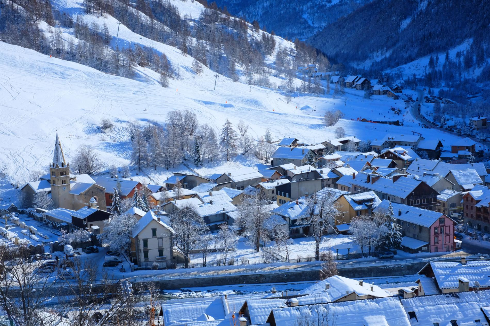Hôtel familial dans un petit village où il fait bon vivre