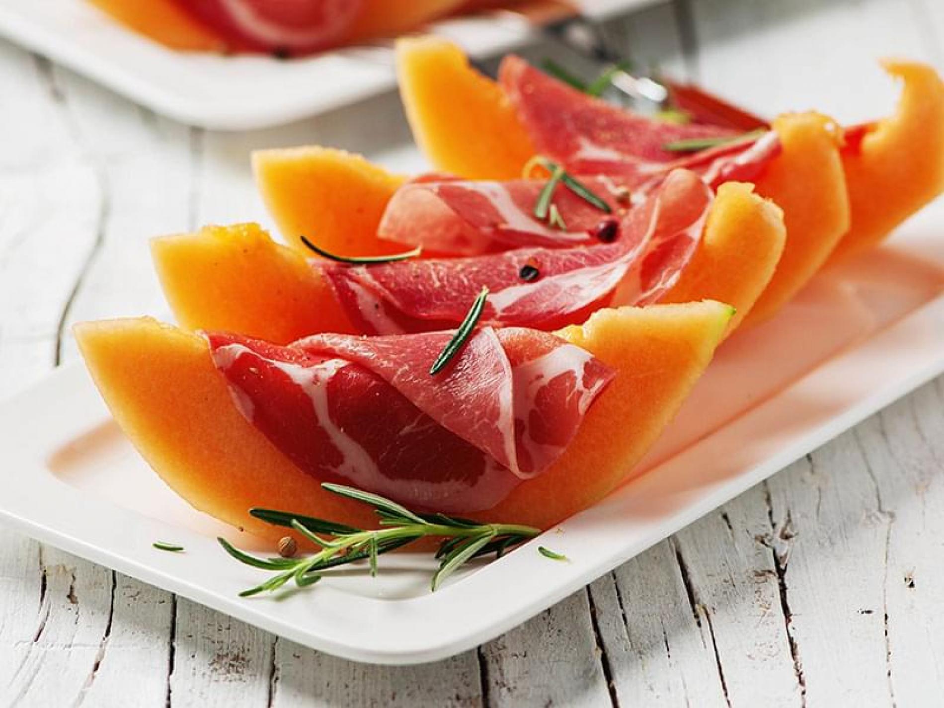 Melon jambon sec
