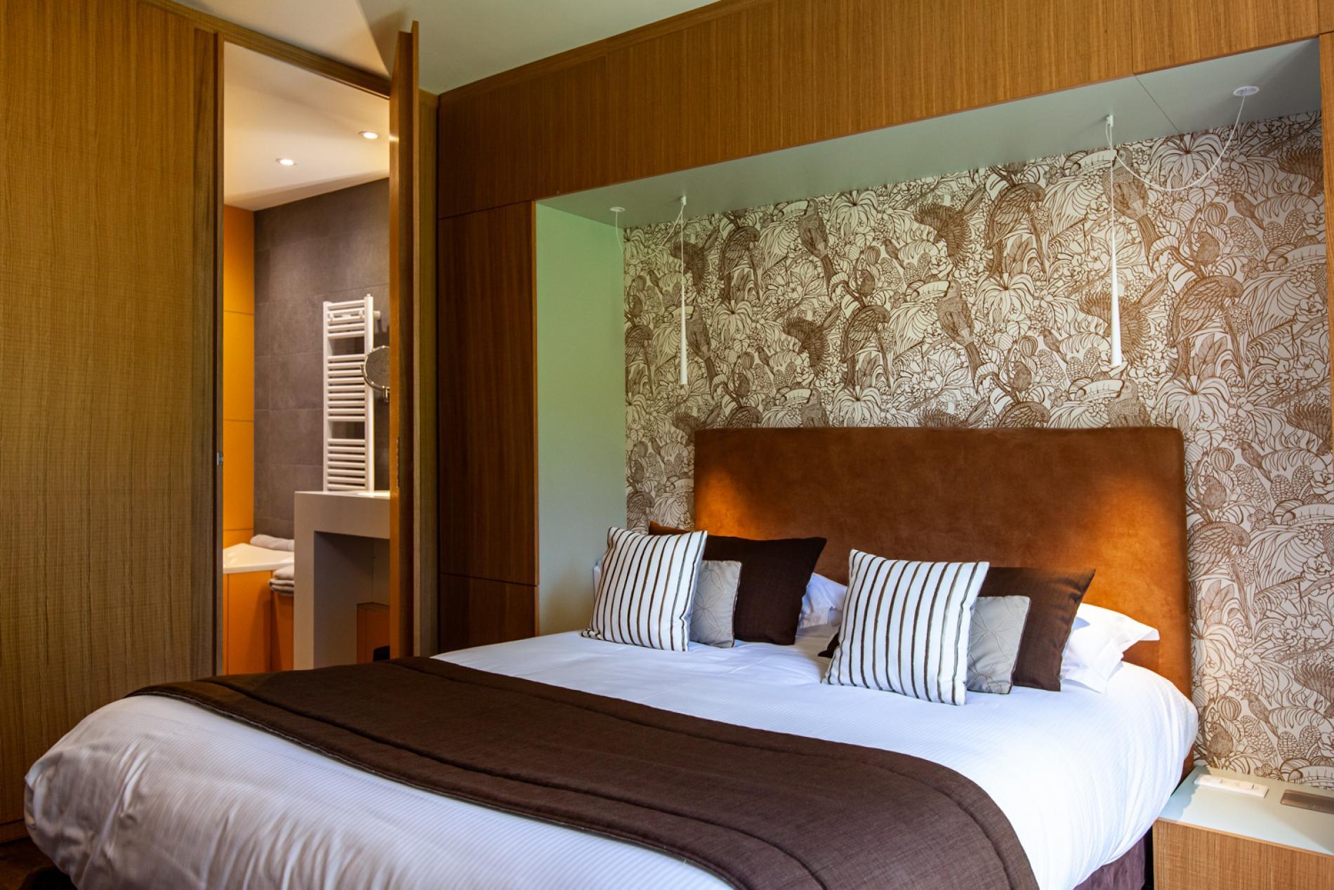 Chambres hôtel à Dunières avec vue, Haute-Loire