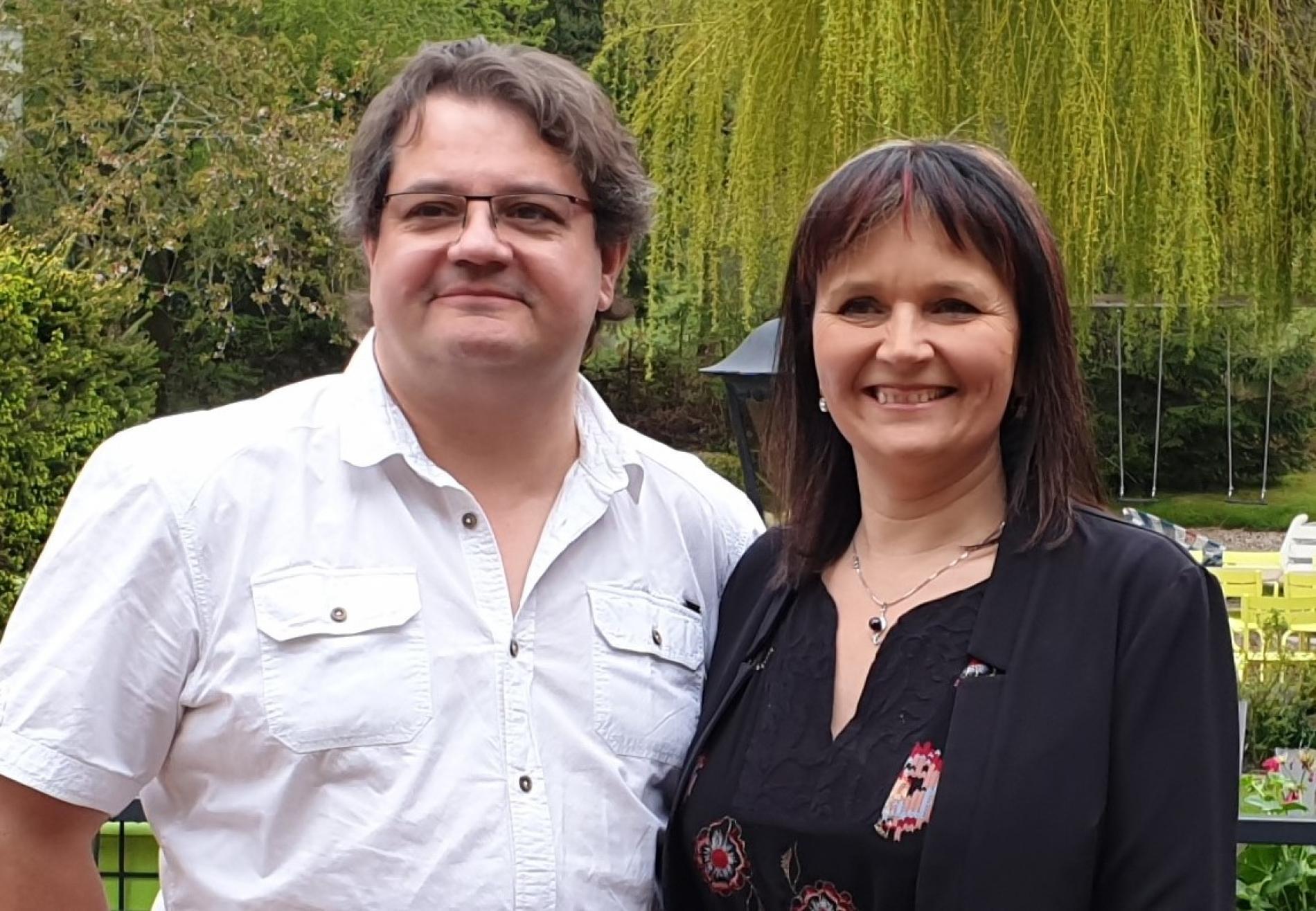 Béatrice et Hervé Vial