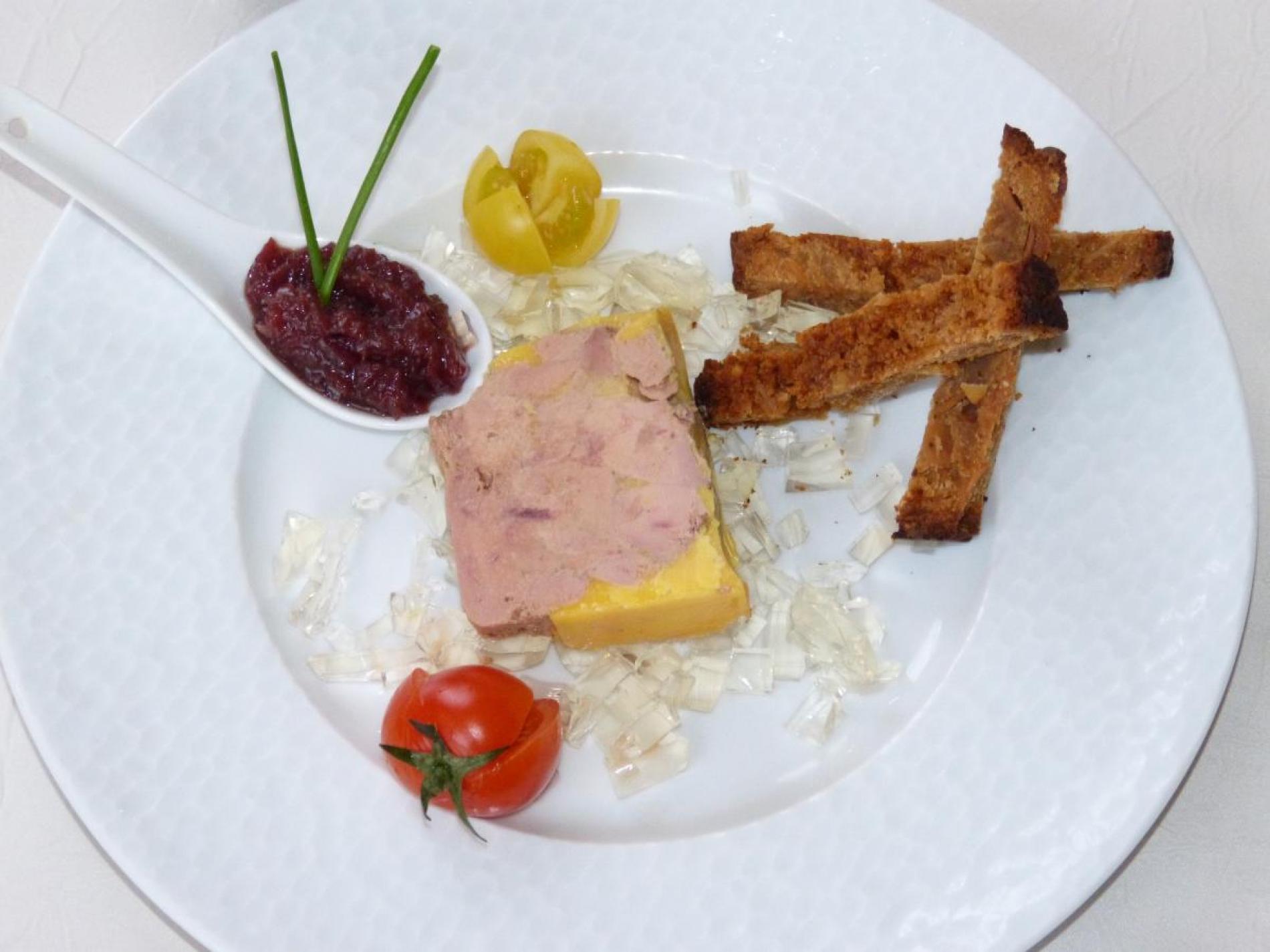 Foie gras maison au Armagnac mi-cuit