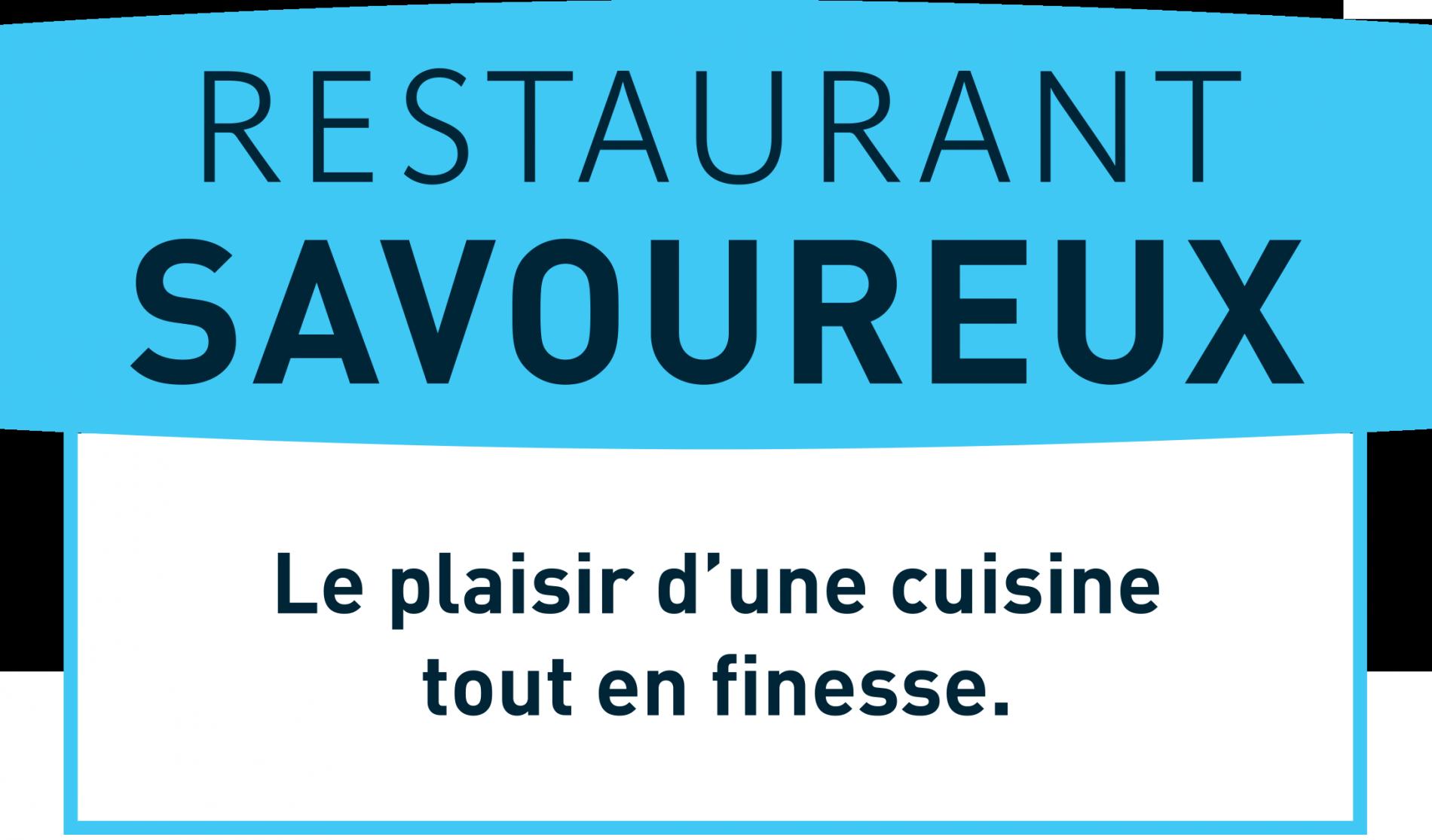 Logo logis restaurant savoureux, Domaine du Moulin Cavier - Angers