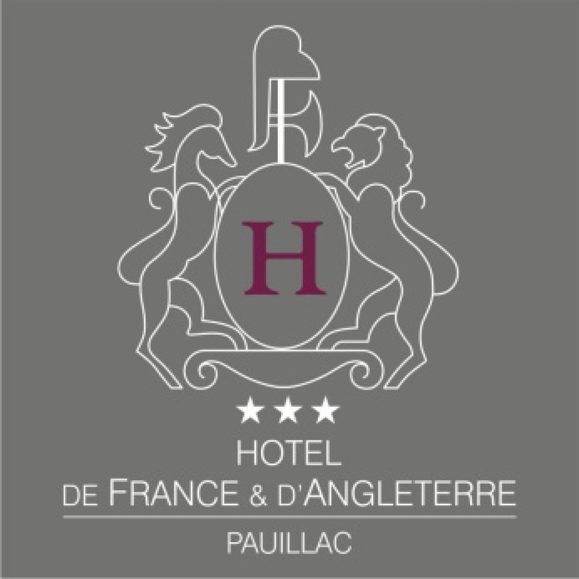 Logo hotel et restaurant de france et d'angleterre