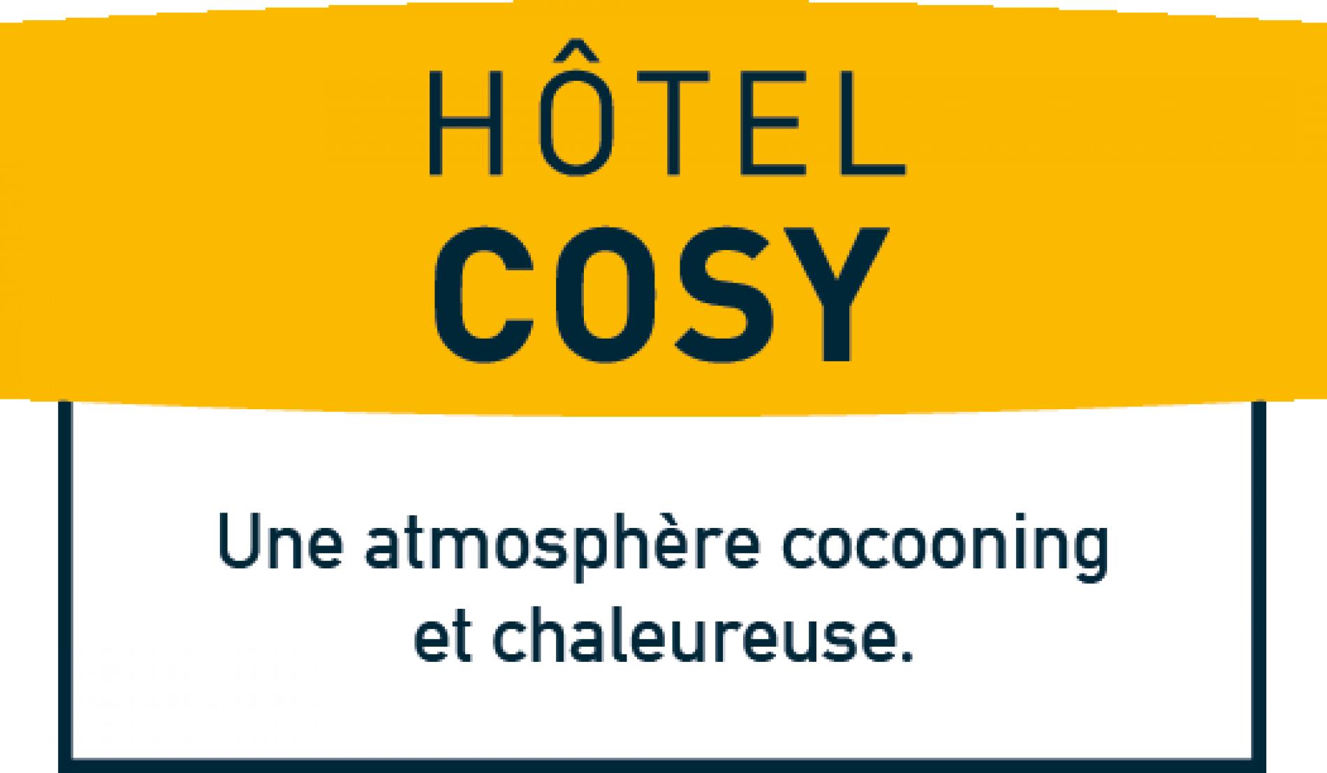 Hôtel de la Basilique à Albert, logo Logis Hotel Cosy