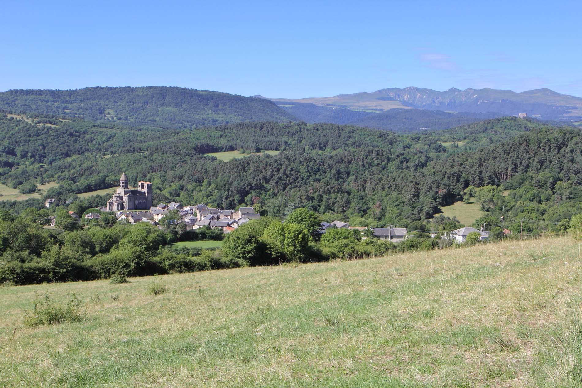 Saint Nectaire, Massif du Sancy