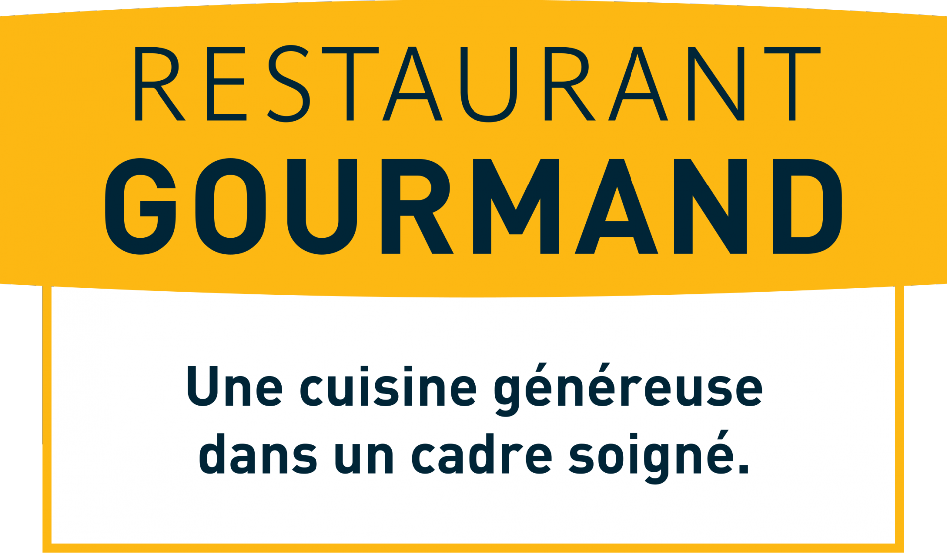 Logis hôtel Le Commerce à Navarrenx, Logo Logis Restaurant Gourmand