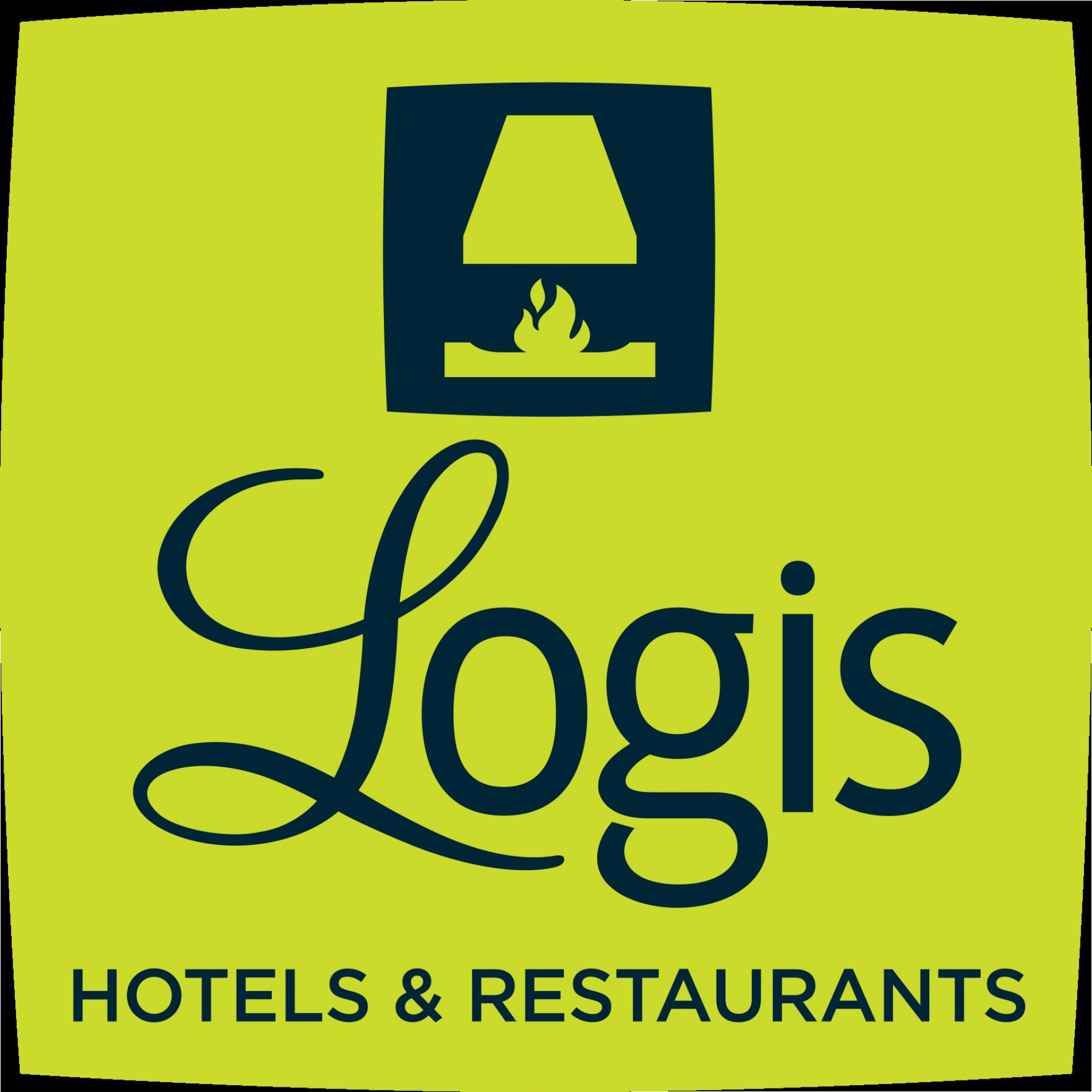 Logo logis hôtel les Glycines à Melles, Poitou Charentes
