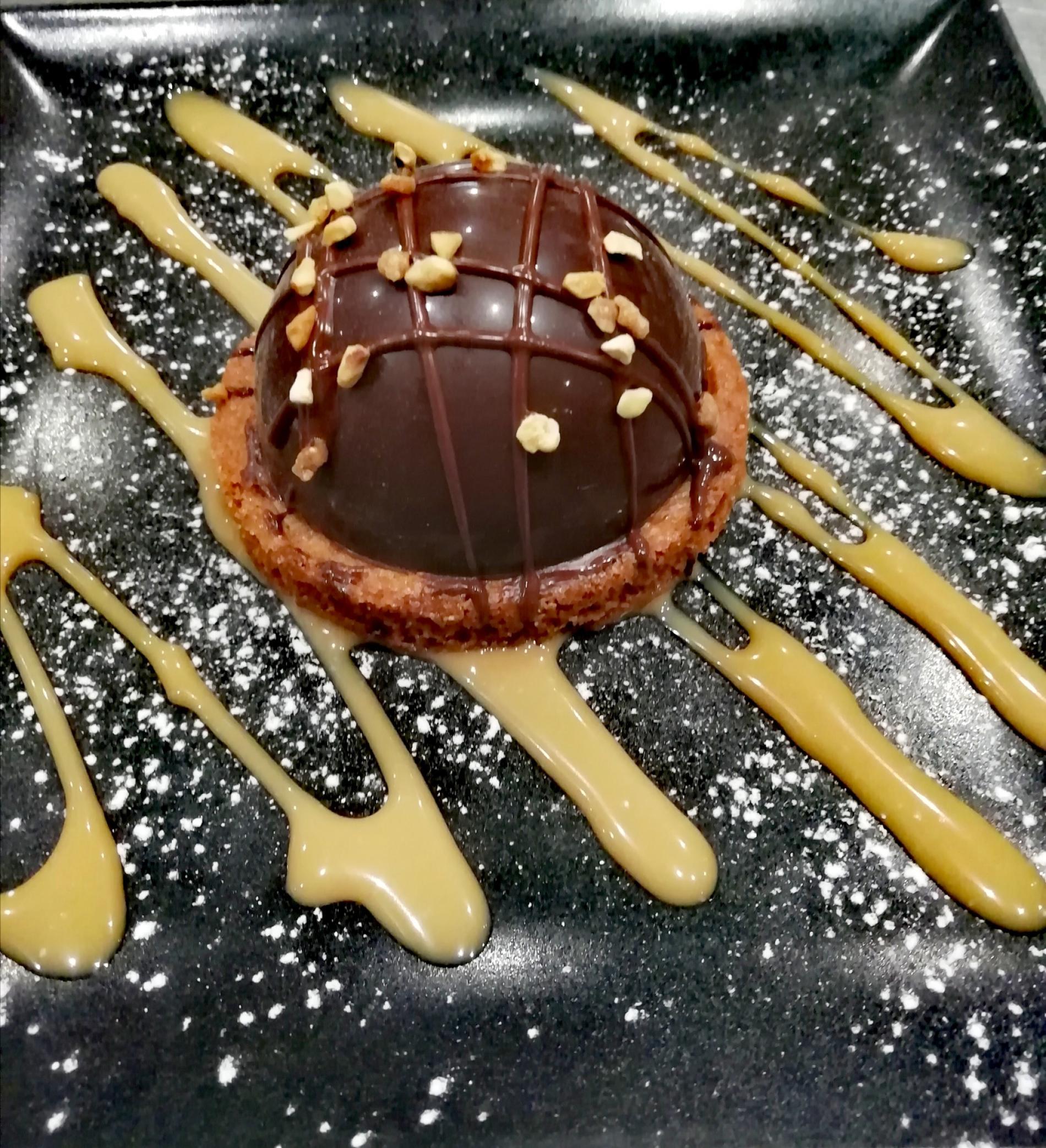 dessert Restaurant Hôtel de Bretagne